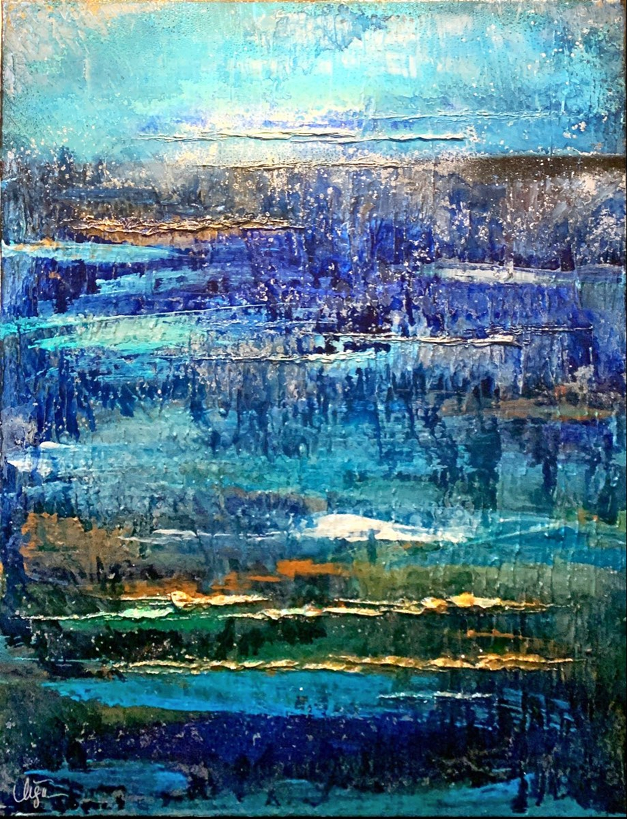 Beyond the Sea 1 by Lisa Wilson