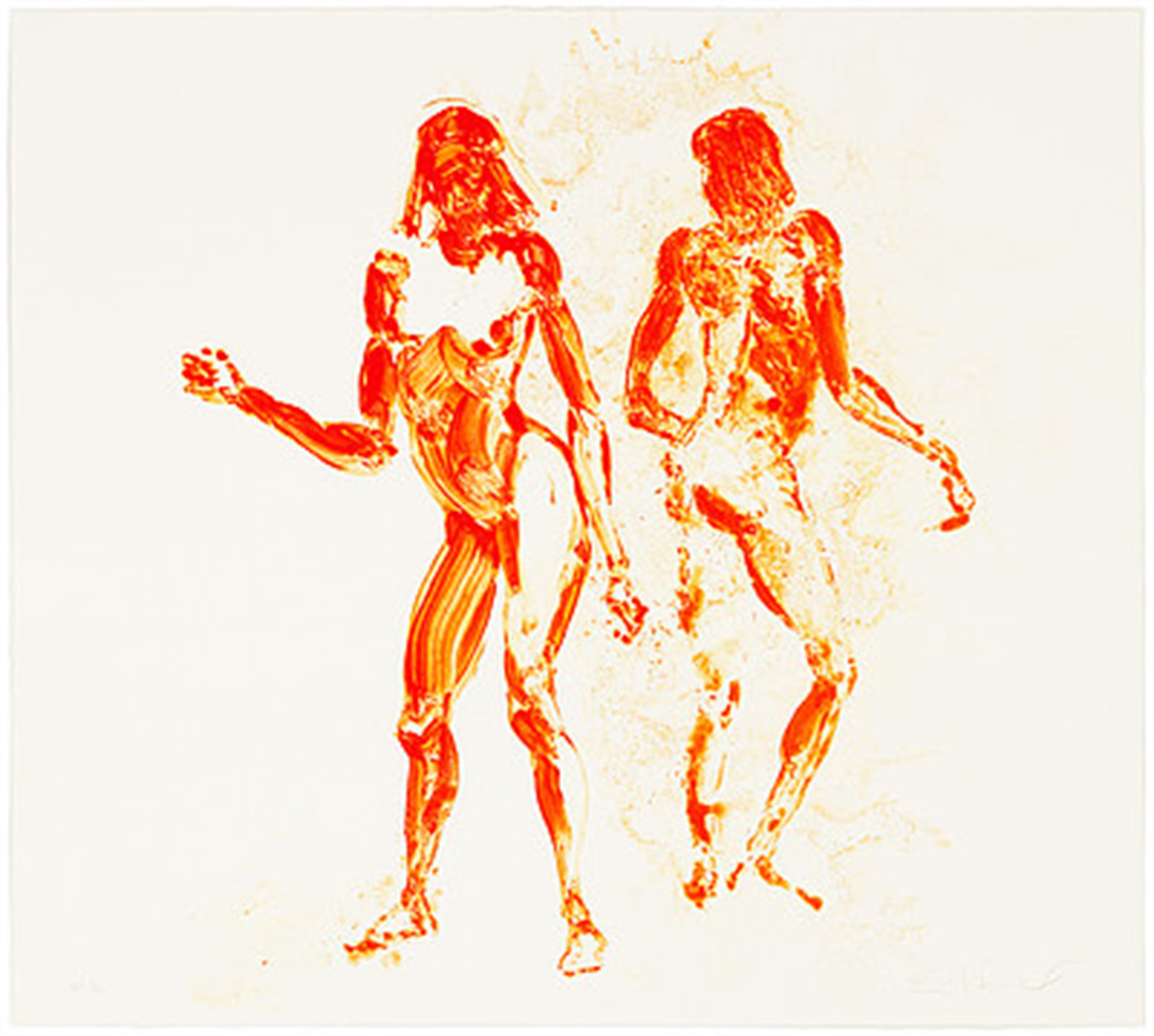 Two Girls Dancing by Eric Fischl