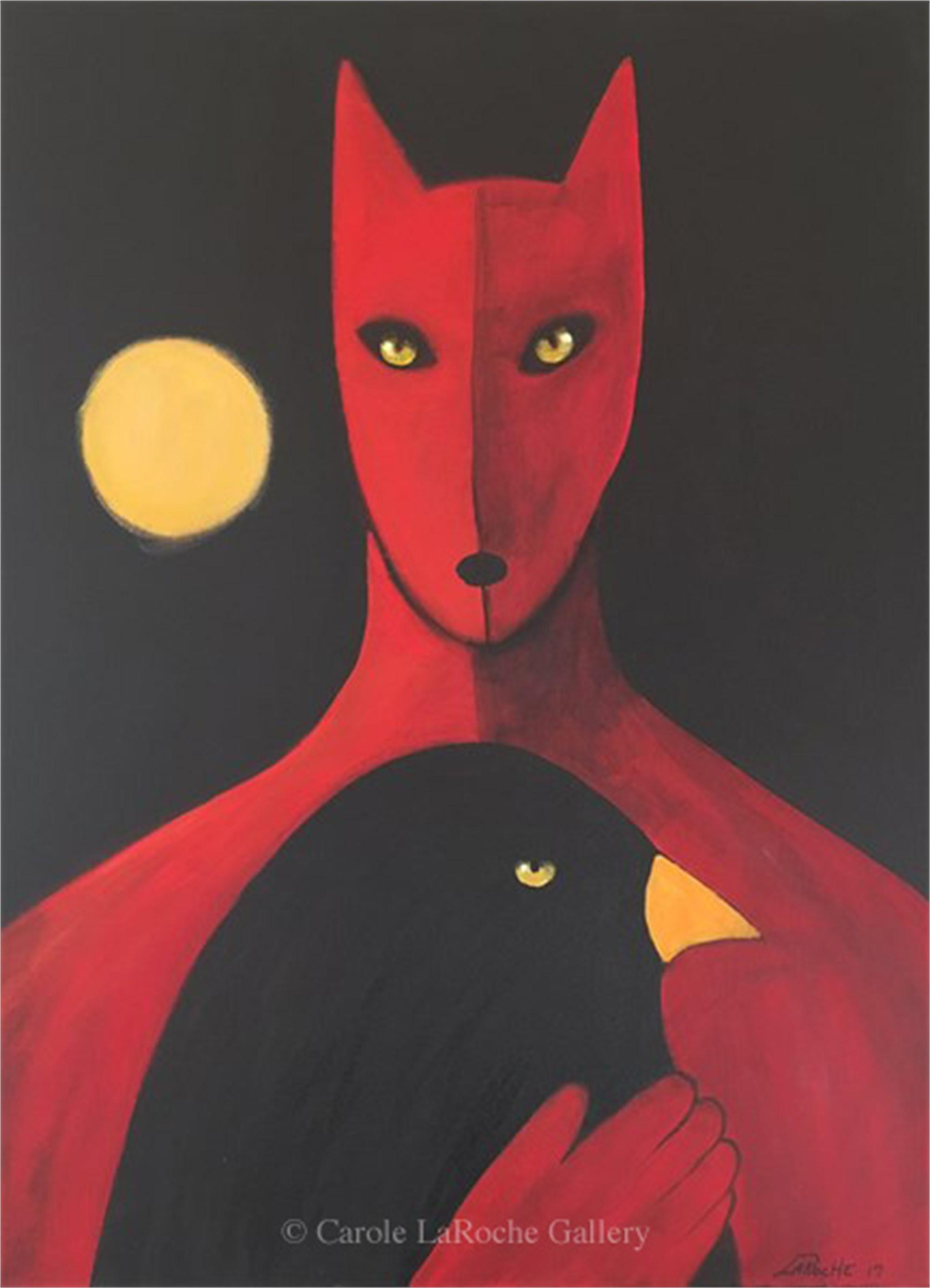 RAVEN WOLF II by Carole LaRoche