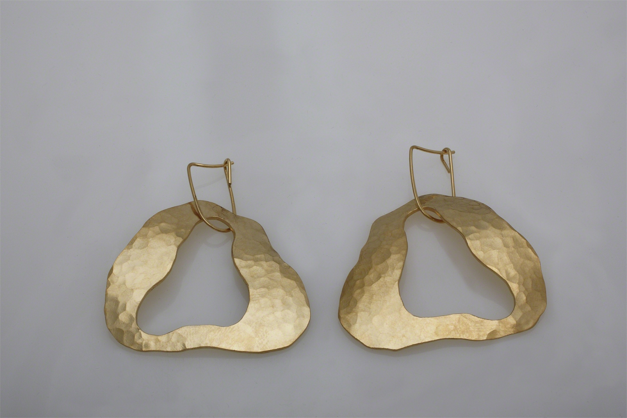 """Cloud"" Earrings by Jacques Jarrige"