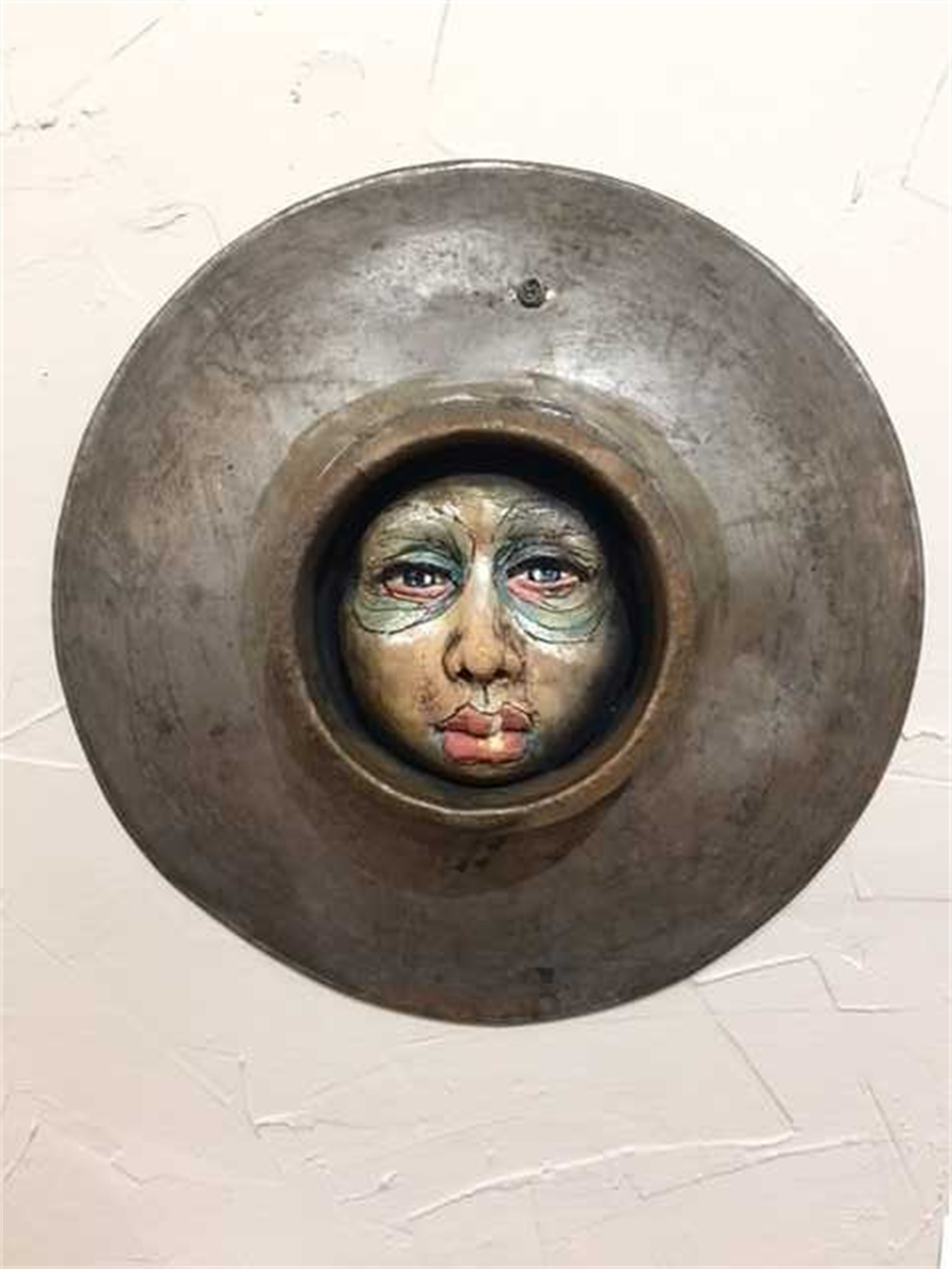 Soul Porthole 3 Wall Sculpture by Nicole Merkens