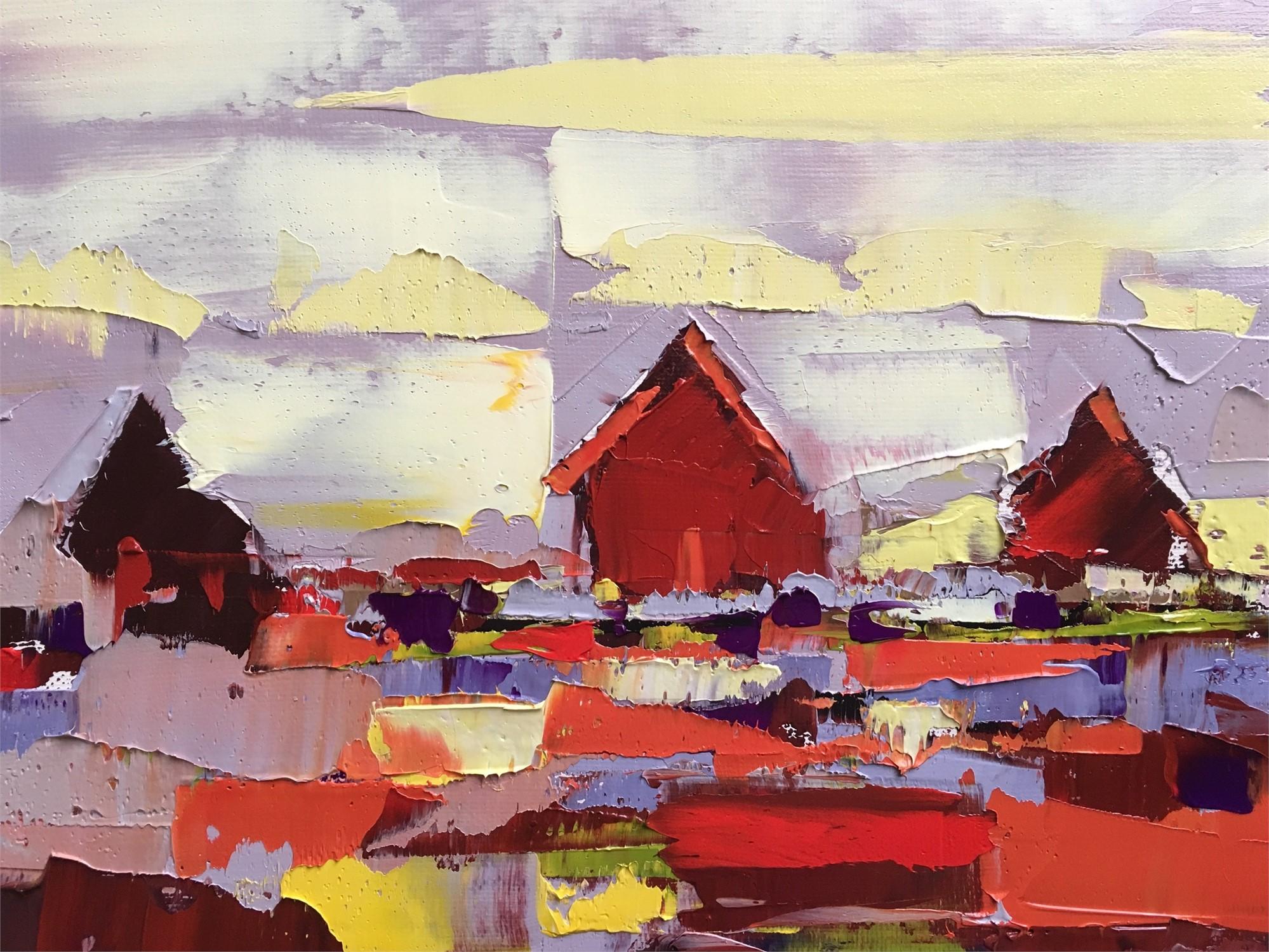 Color Houses by Sandra Pratt