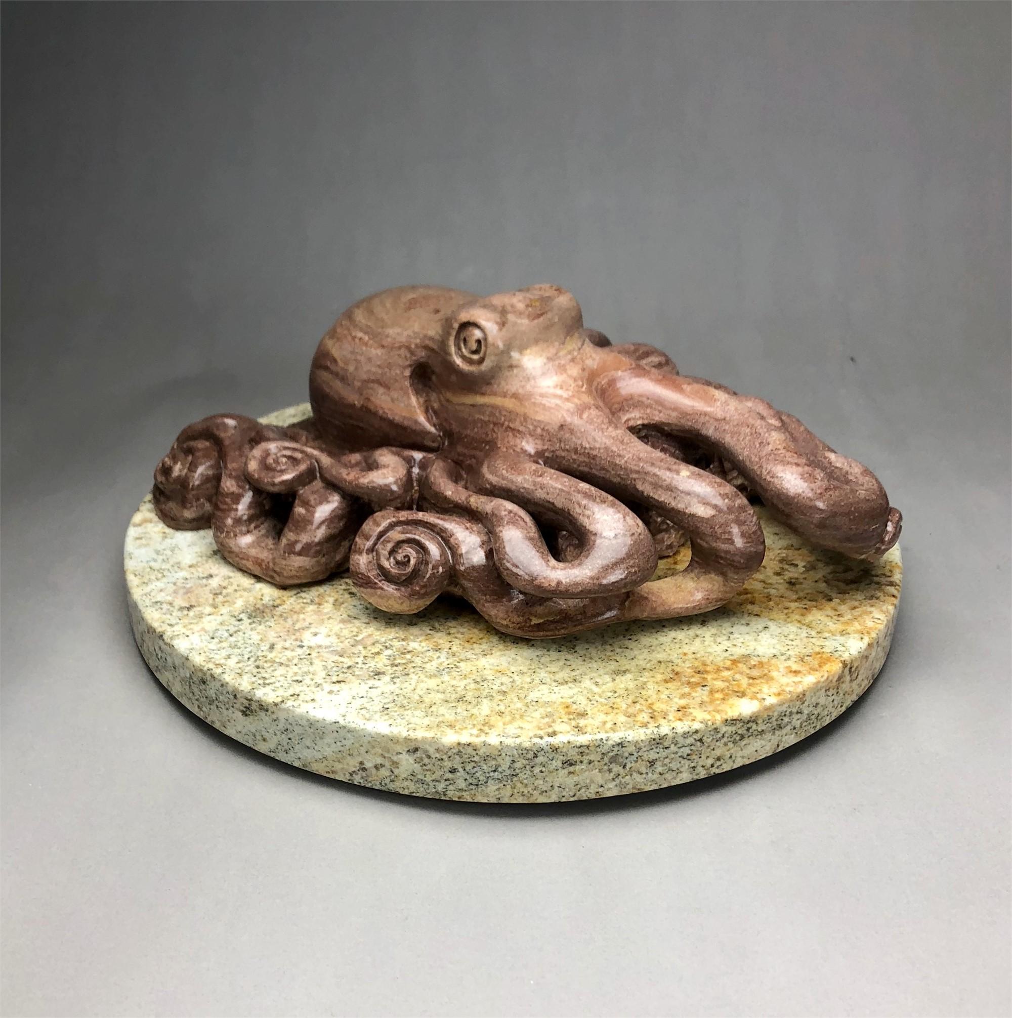On the Prowl (Octopus) by Scott Penegar