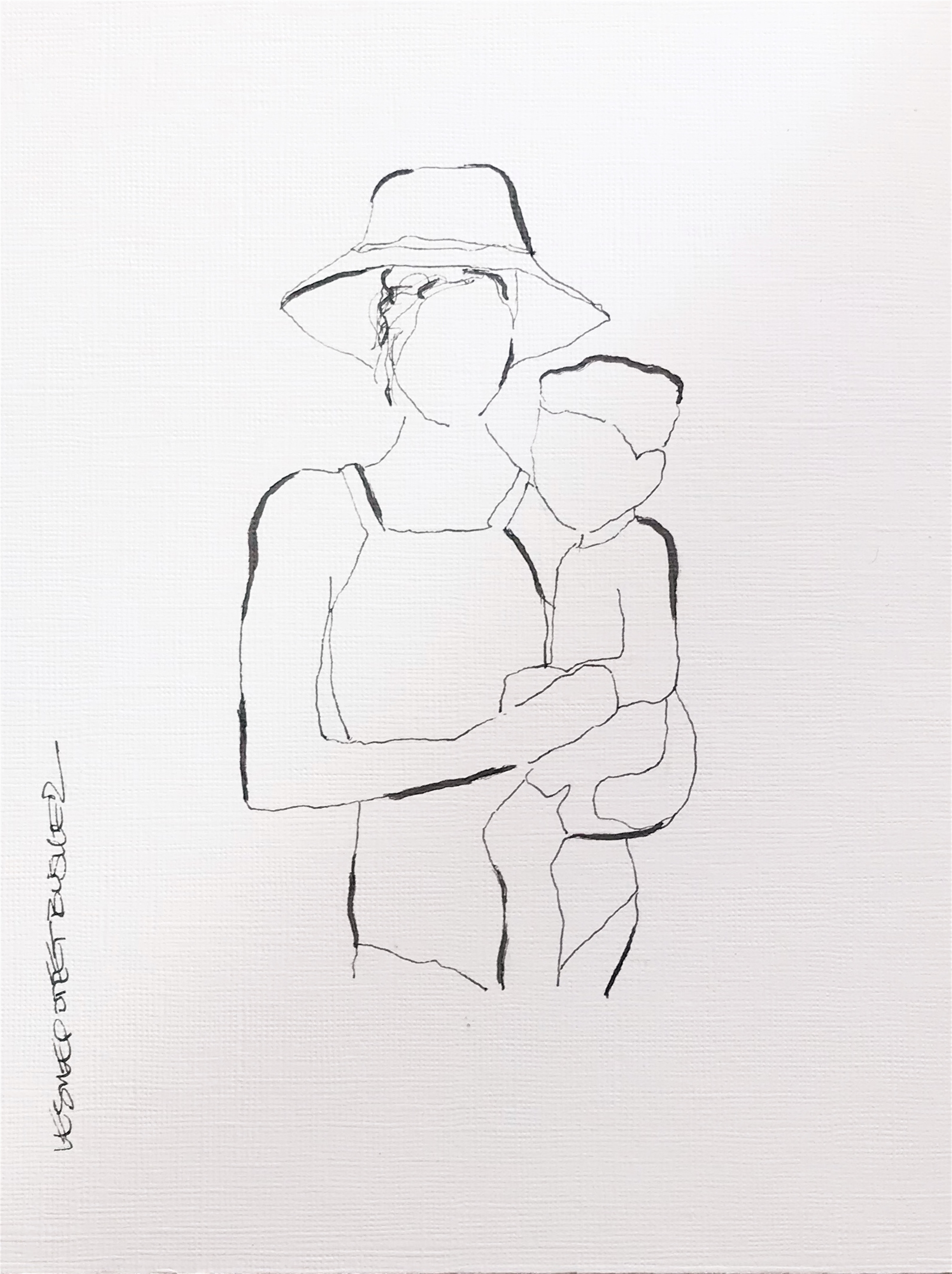 Mother and Child No. 10 by Leslie Poteet Busker