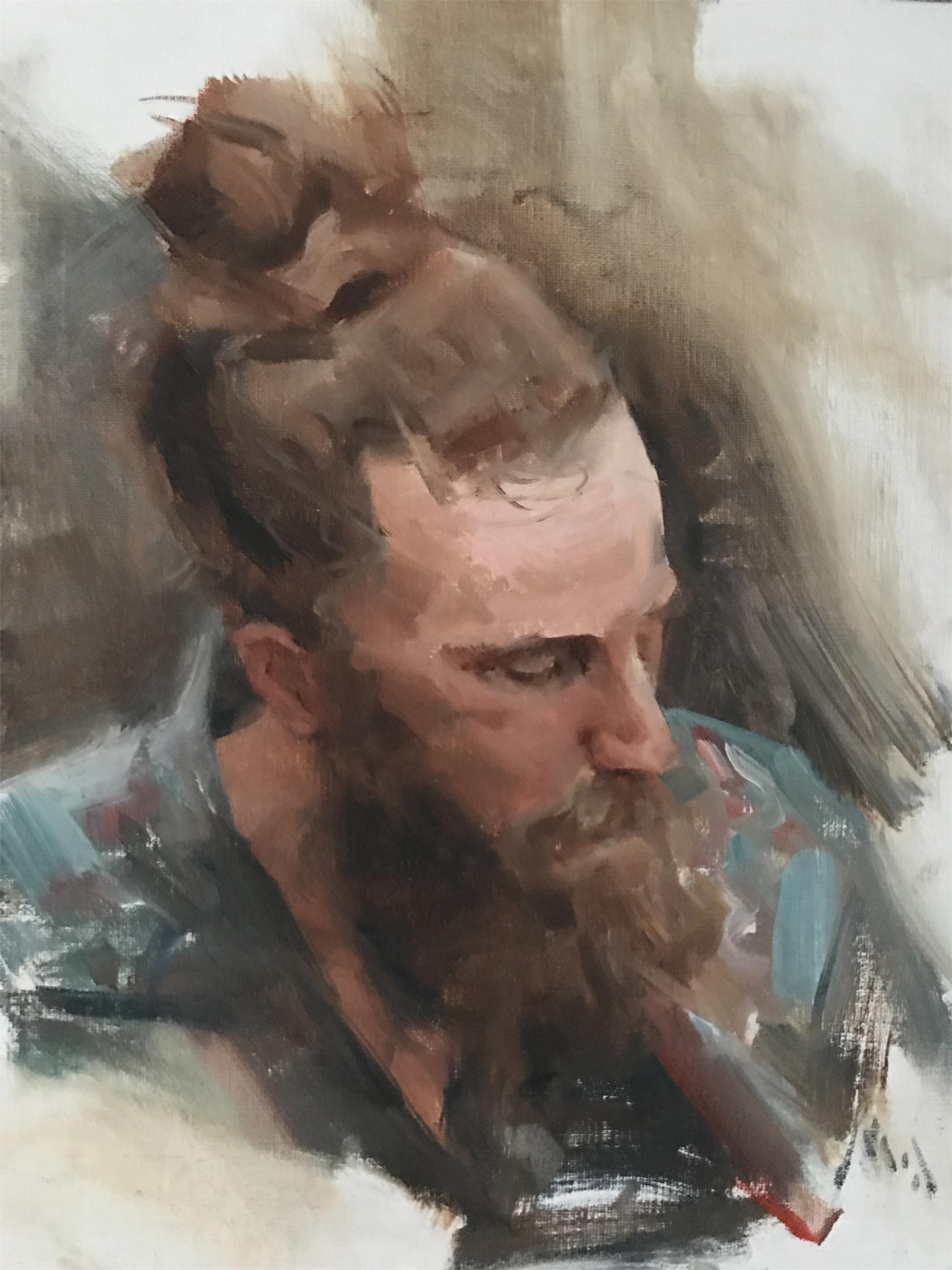 Bearded Man by Kyle Ma