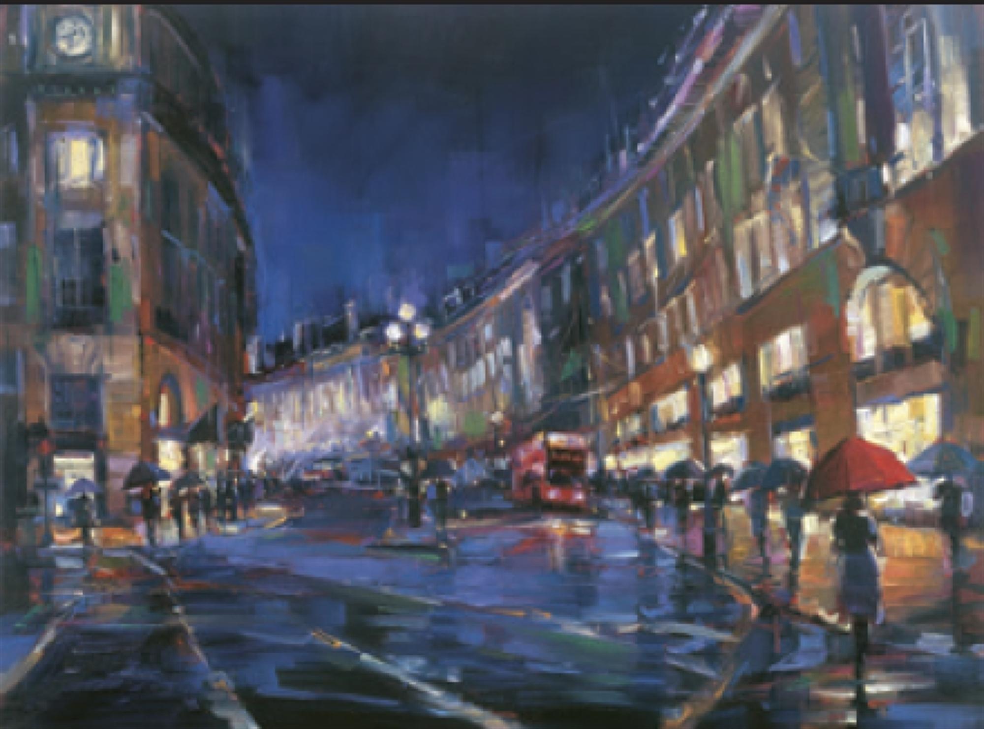 London Rain by Michael Flohr