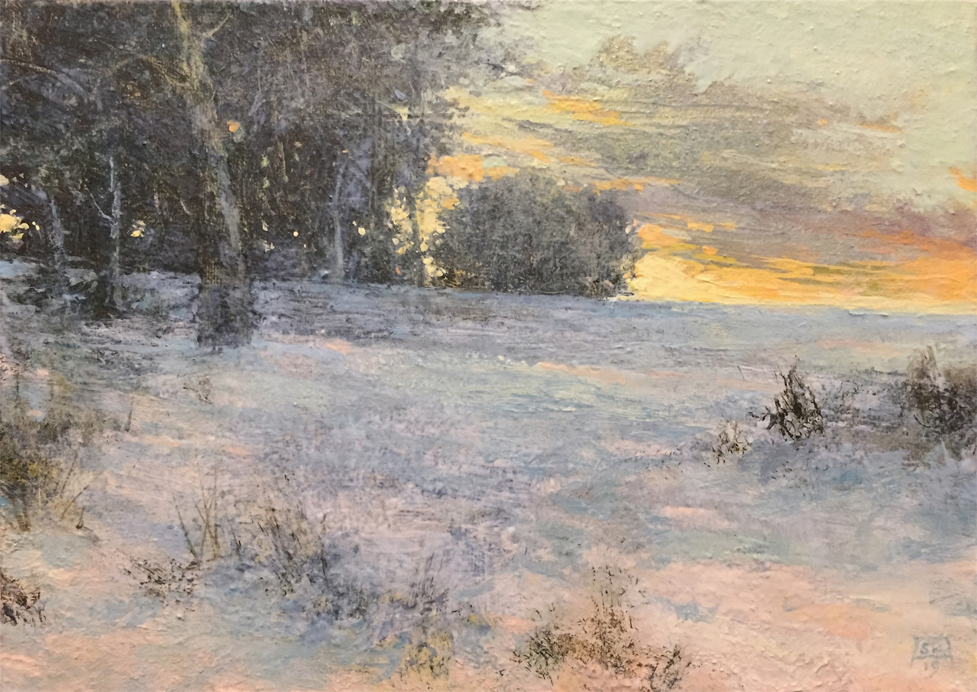 The Clearing (Winter) by Shawn Krueger