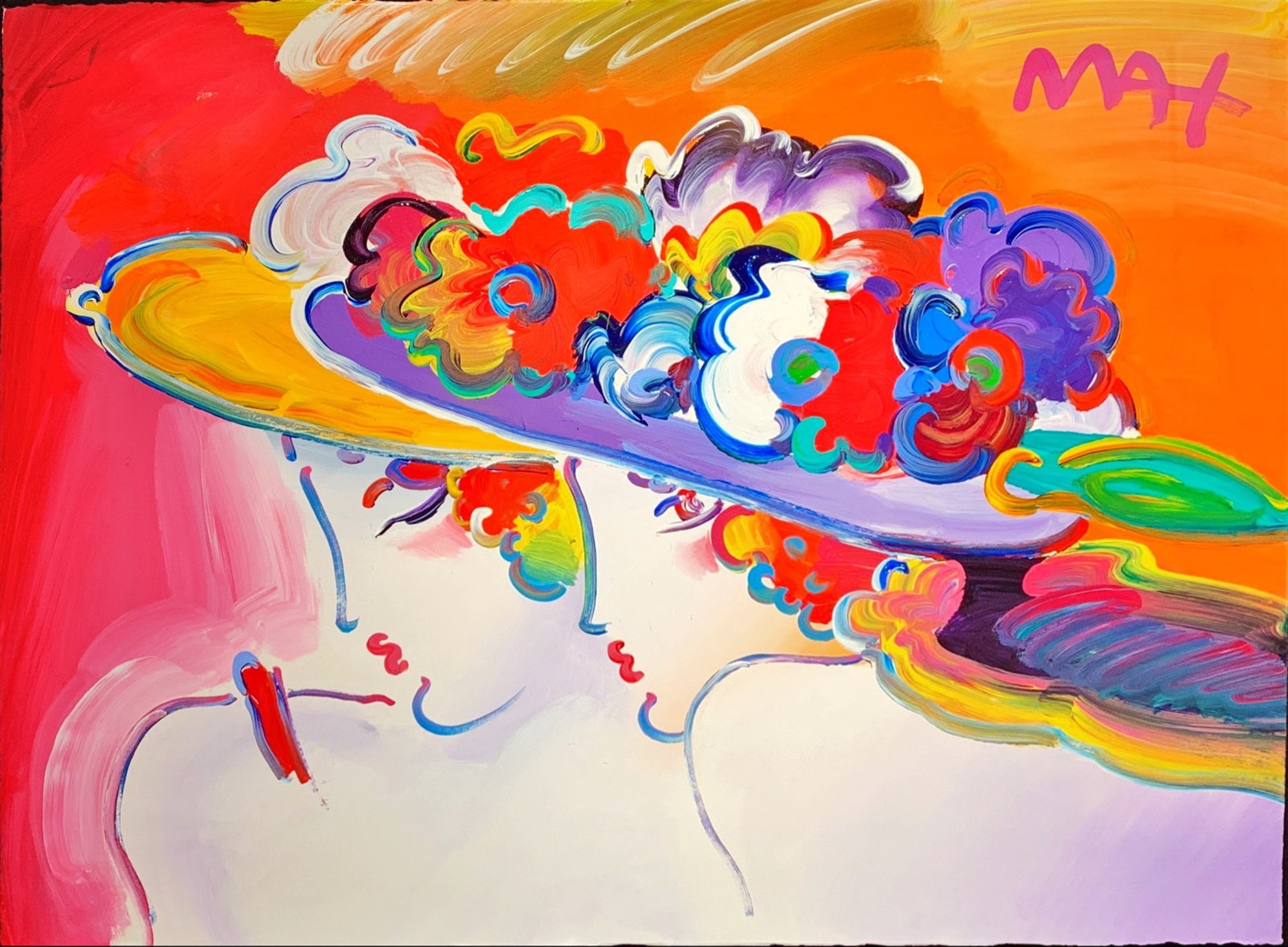 Friends by Peter Max
