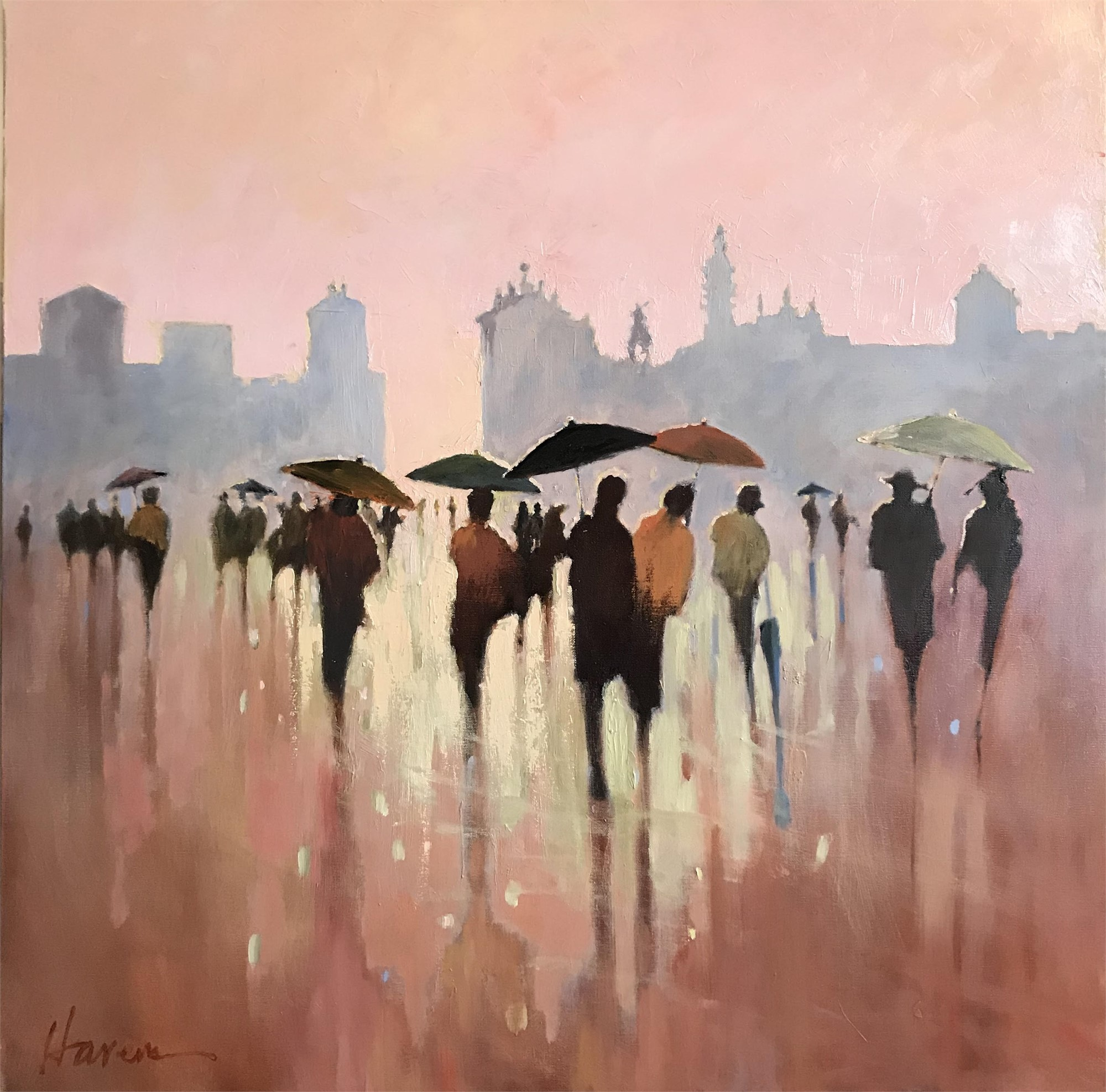 European Shower by Betsy Havens