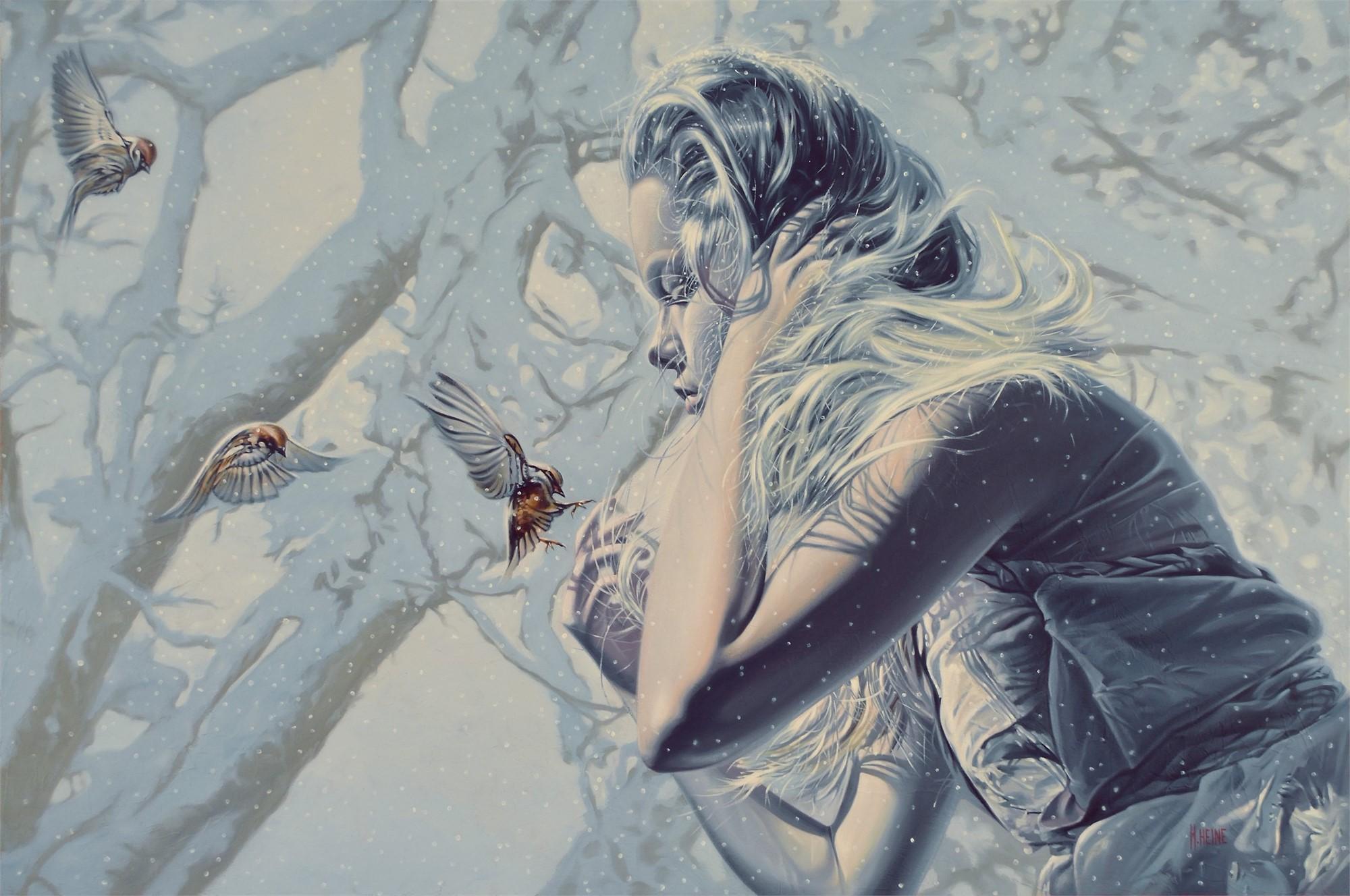 Three Little Birds by Mark Heine