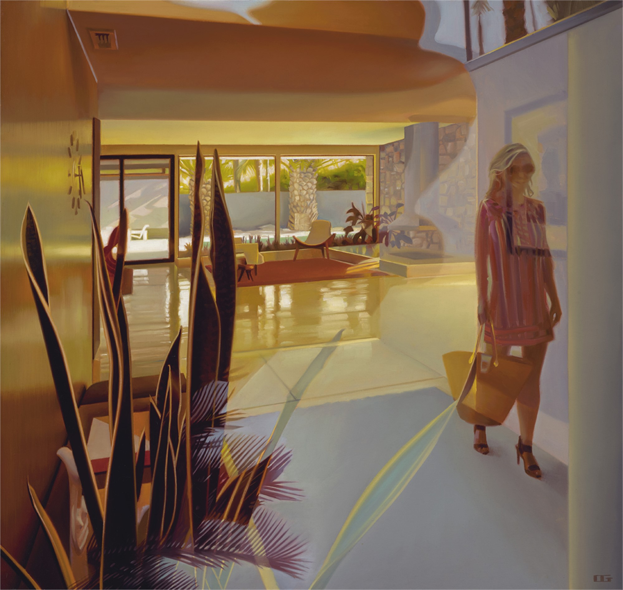 Happy to be Home (S/N) by Carrie Graber