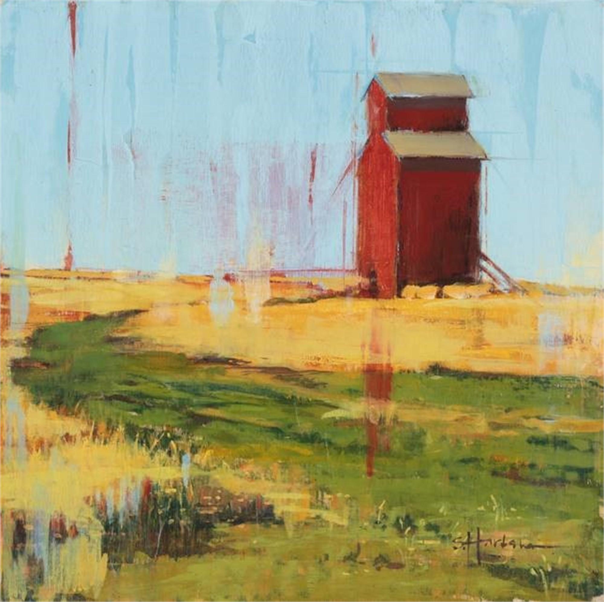 17 Red Grain by Stephanie Hartshorn