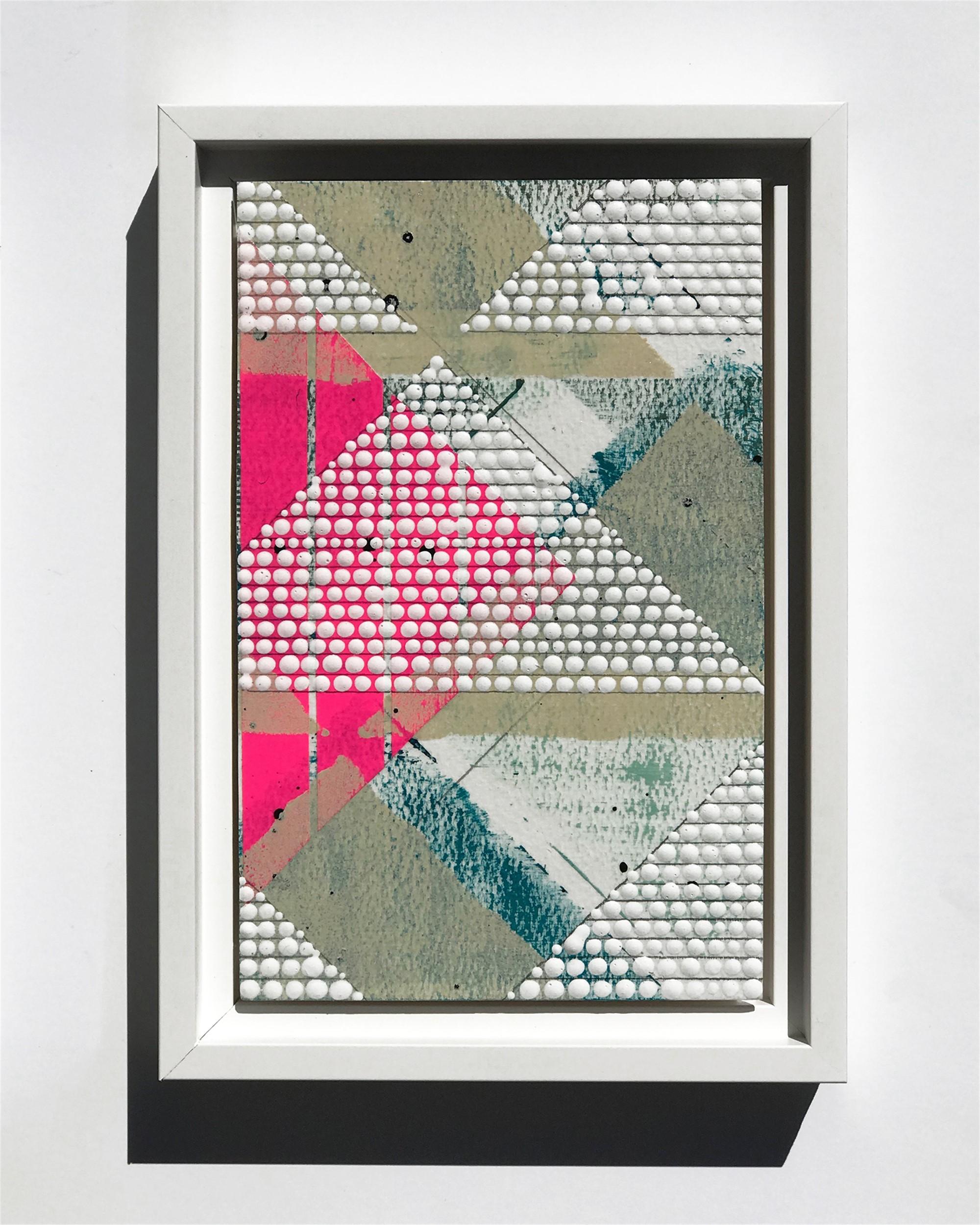 Triangle 2, Pink, Study No.79 by Nina Tichava
