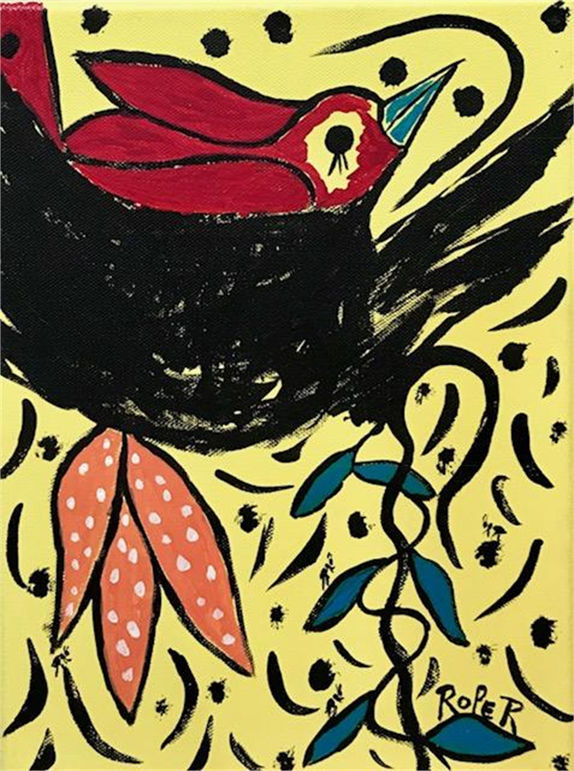 Bird in a Nest by Billy Roper