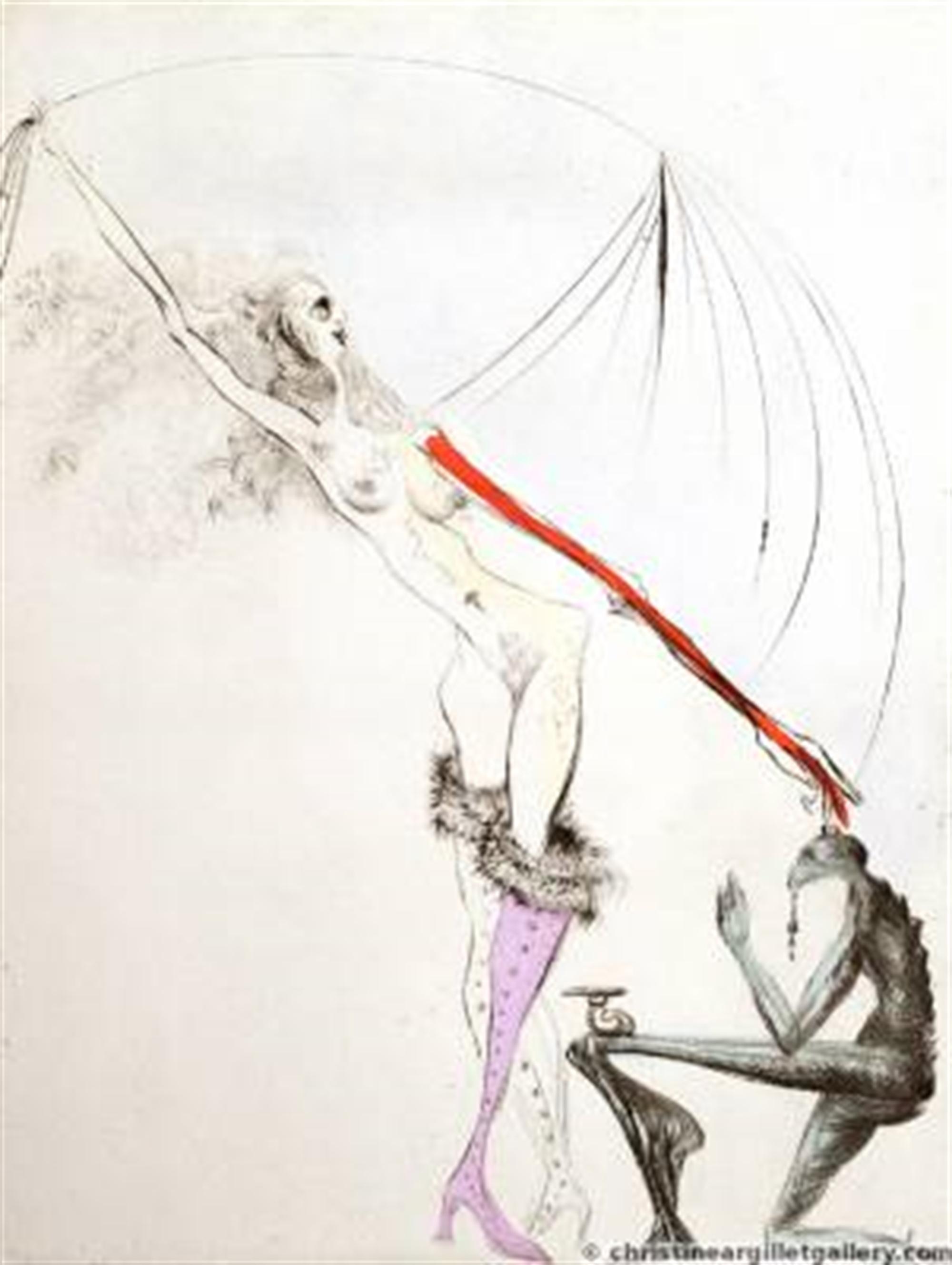 "Venus in Furs ""Purple Boot"" by Salvador Dali"