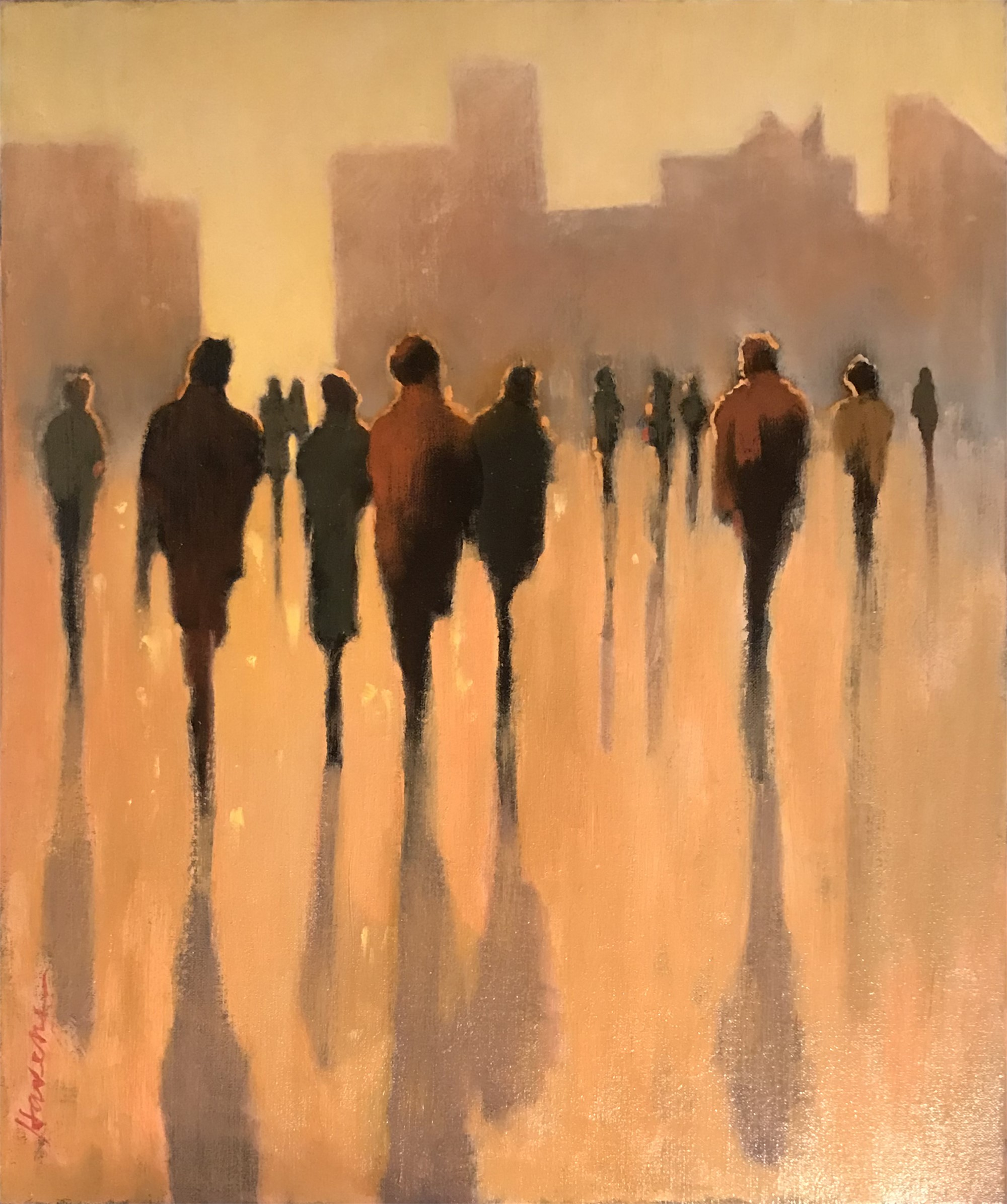 Morning in the City by Betsy Havens