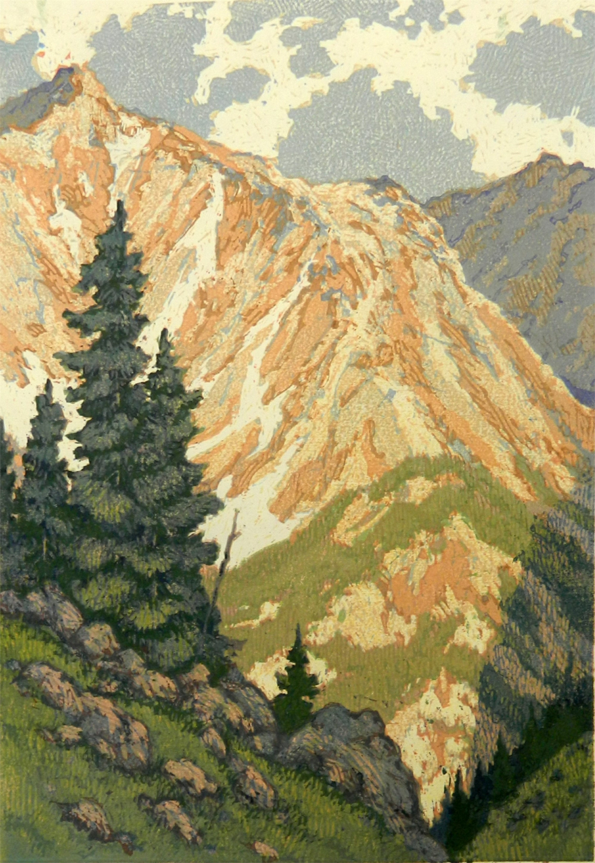 Peak Shadows by Leon Loughridge