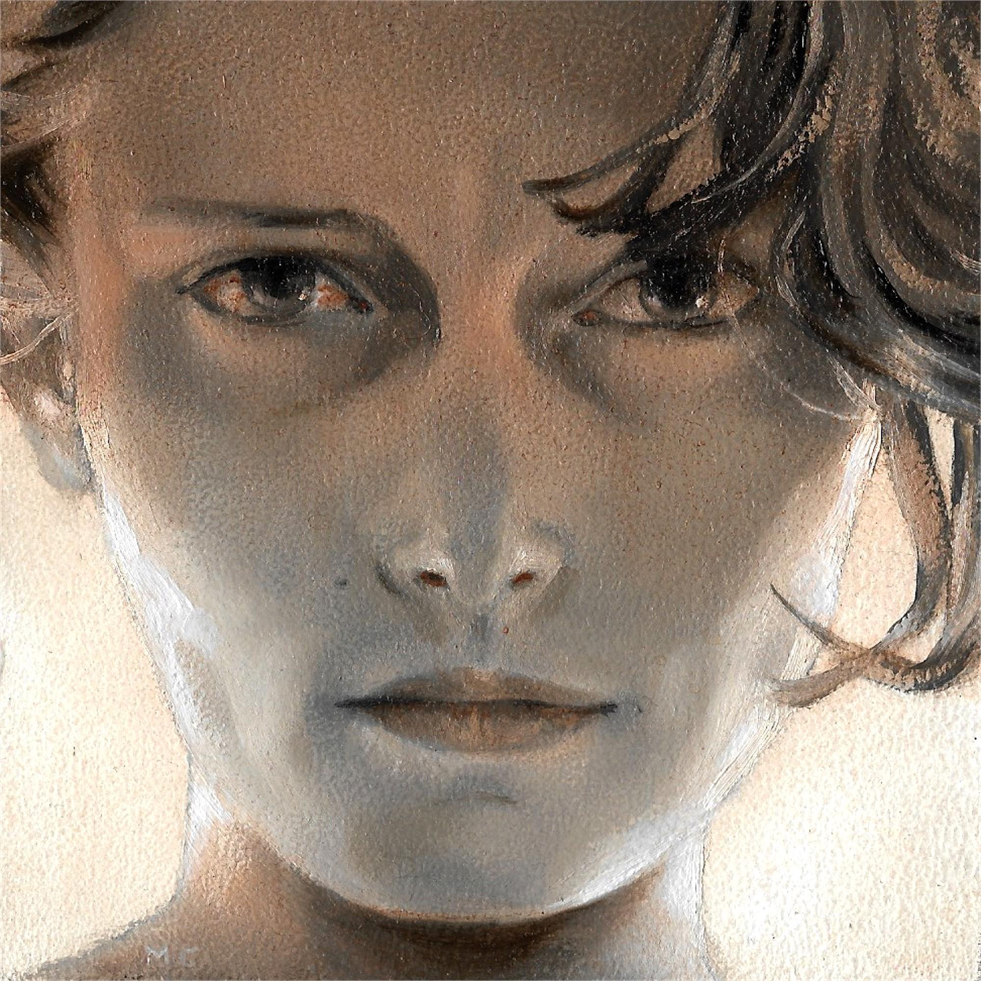 One Eye bloodshot by Mary Chiaramonte