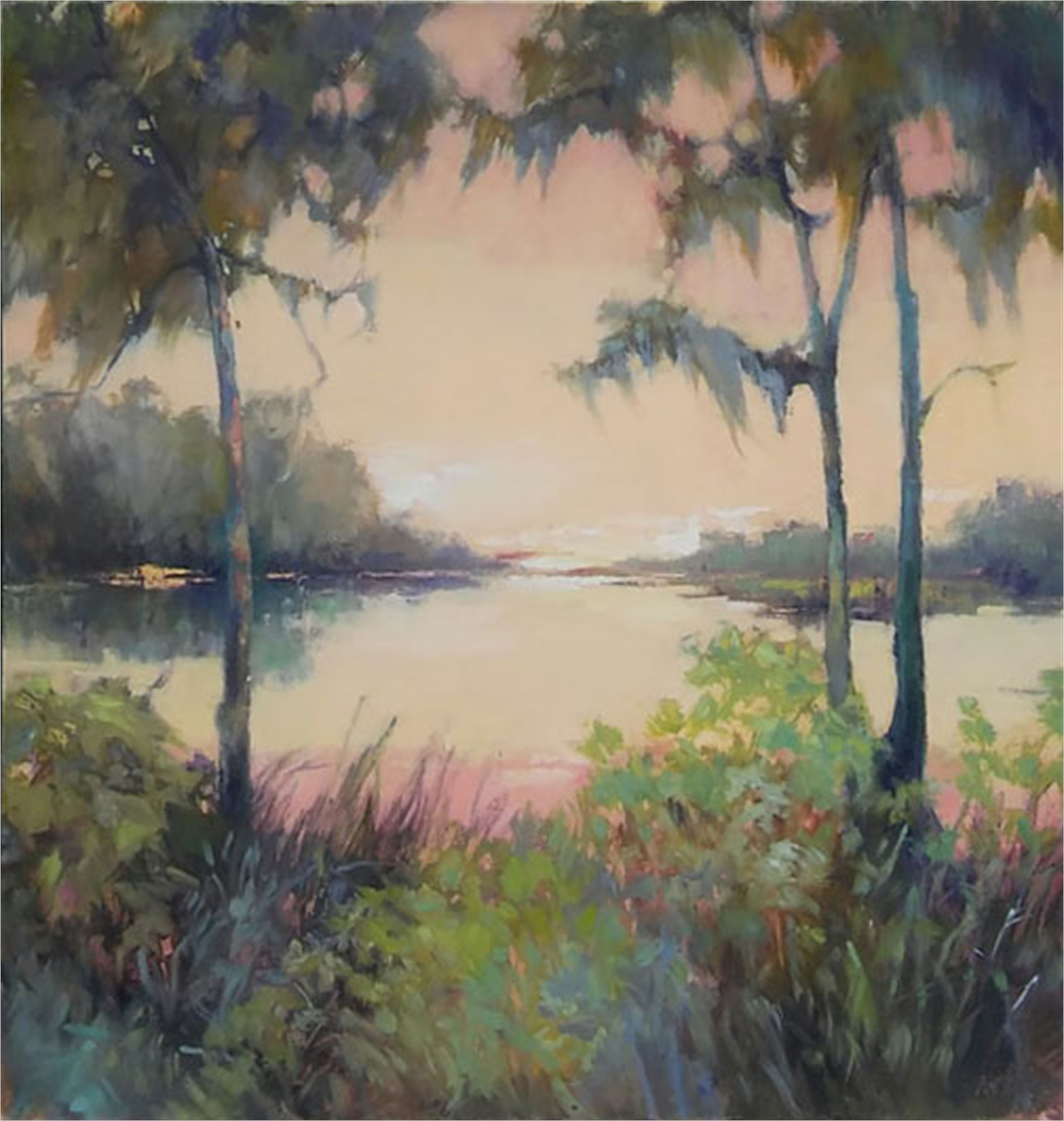 Spring Flood III by Madeline Dukes