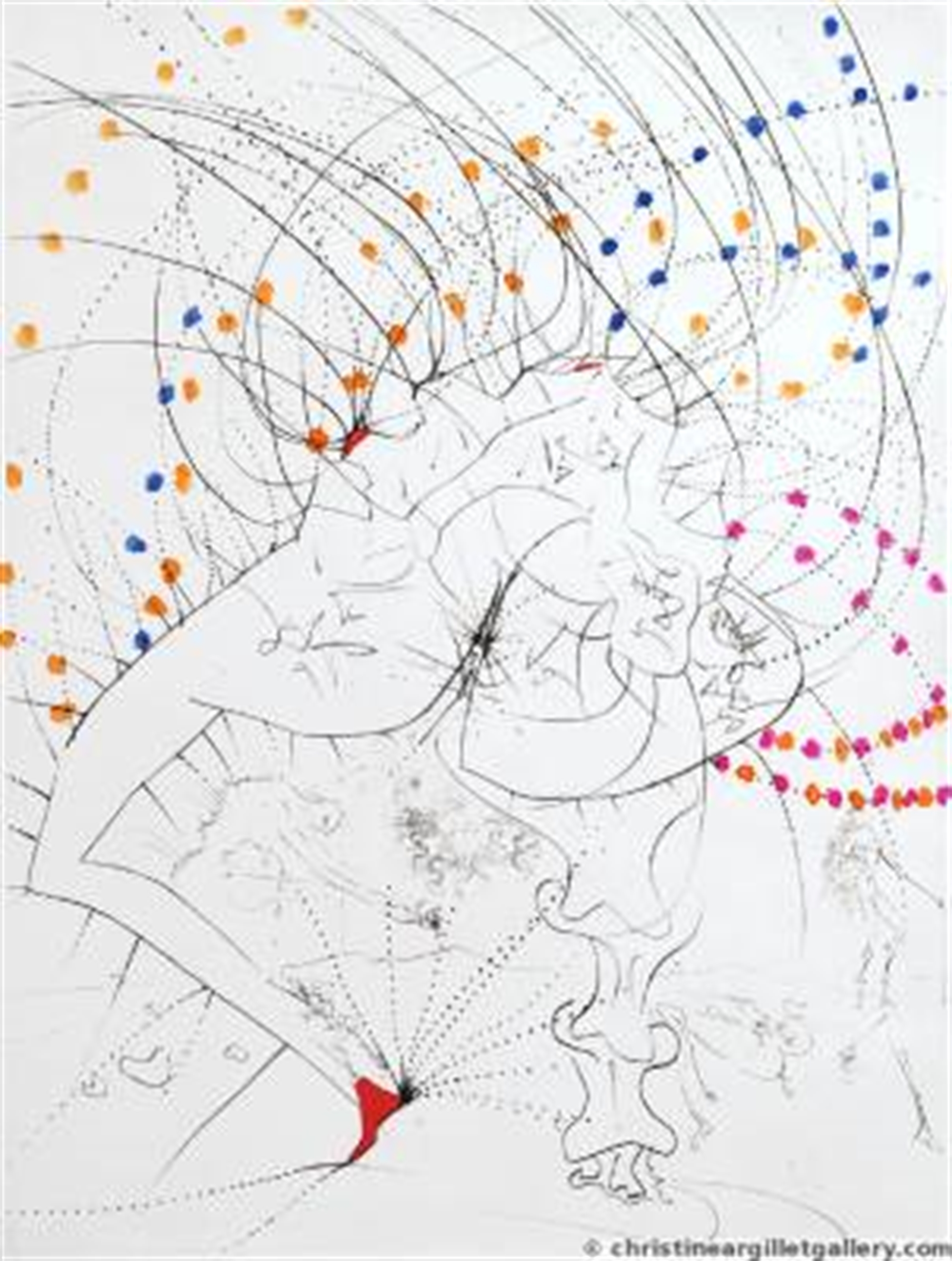 "Venus in Furs ""Piquant Buttocks"" by Salvador Dali"