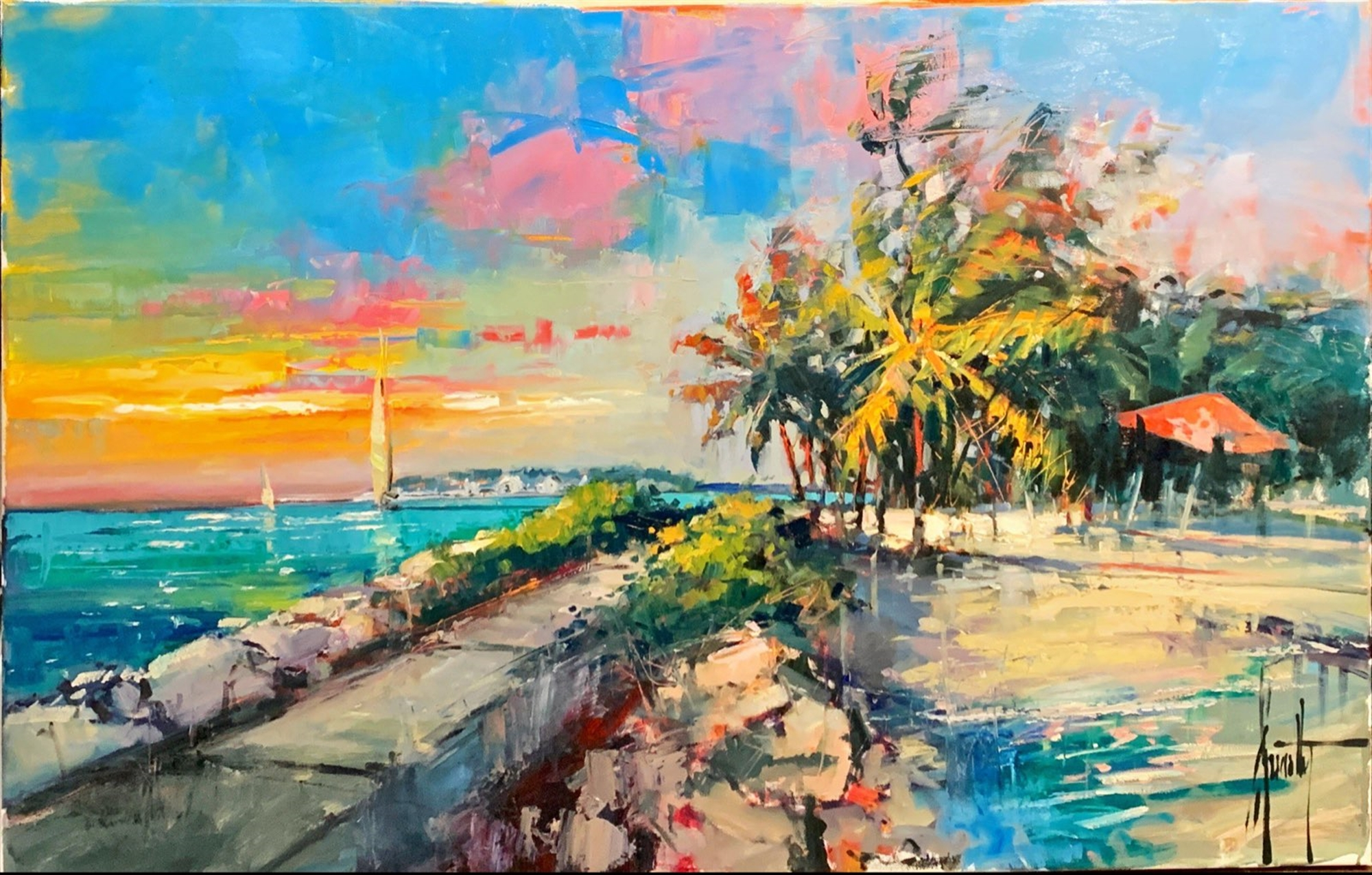 View of Sunset Key by Steven Quartly