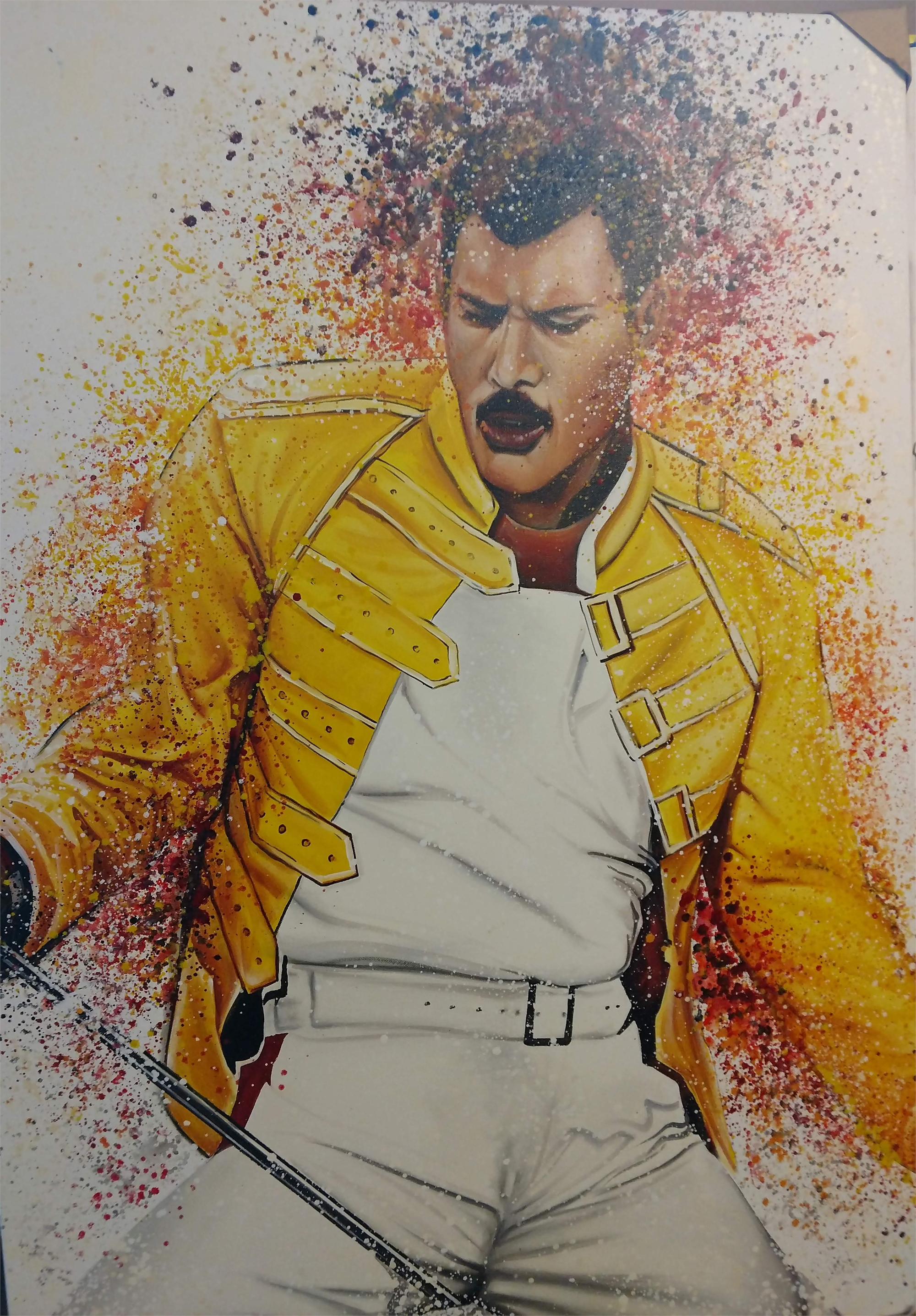 """Freddie At Wembley"" by Buma Project"
