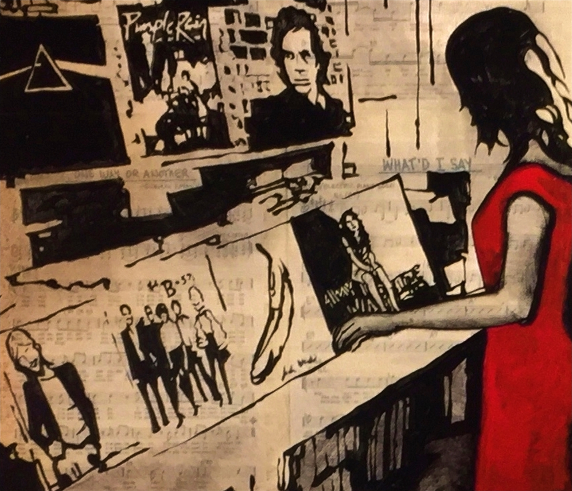 I Always Fall in Love at the Record Store by Will Armstrong