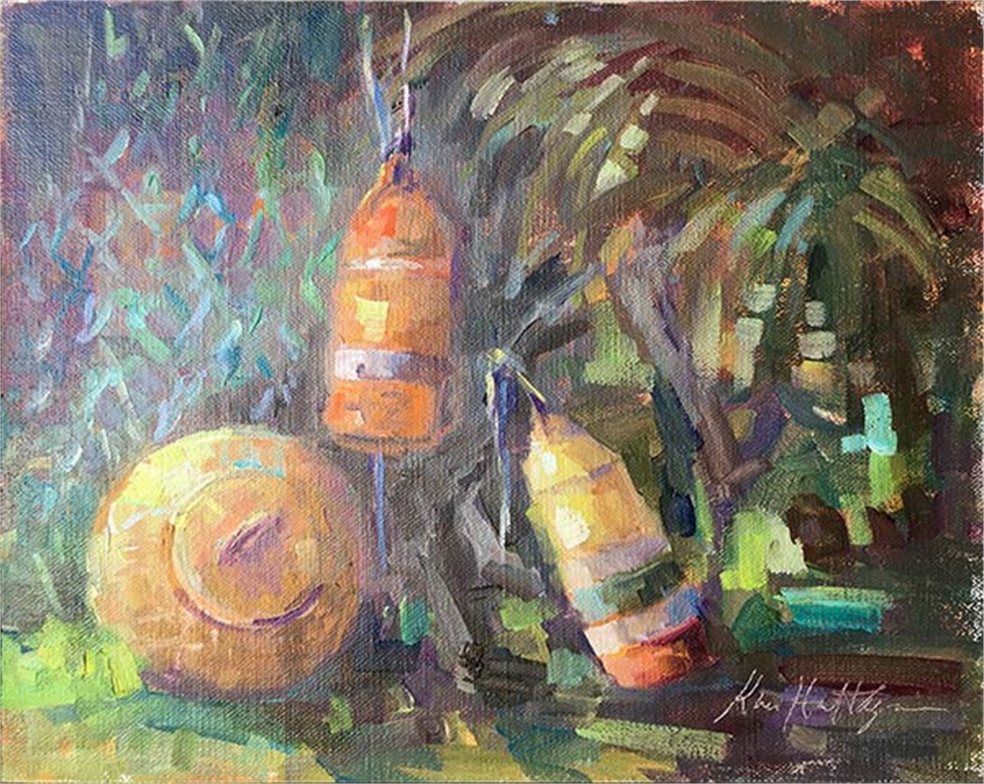 Three Abaco Floats by Karen Hewitt Hagan