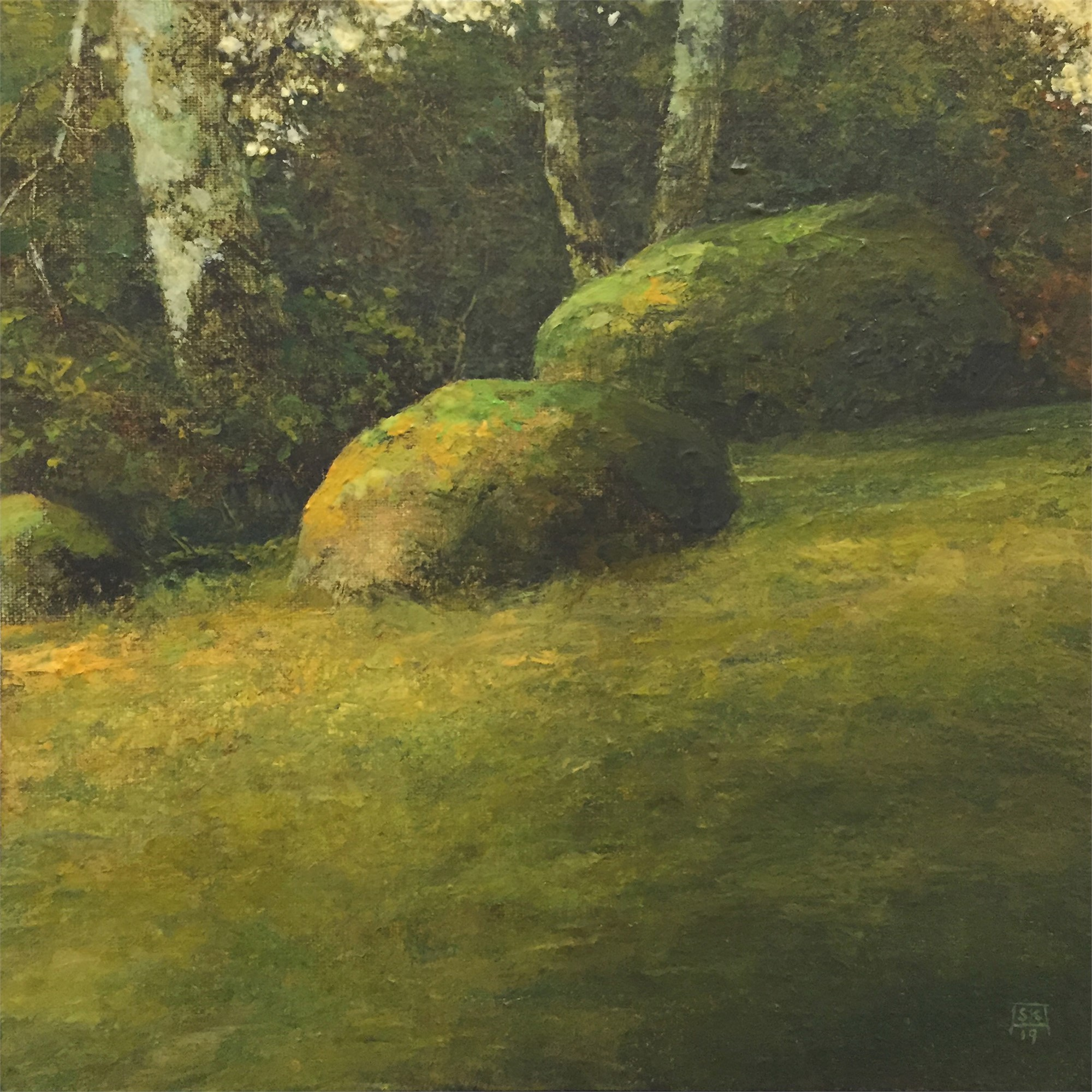 Field and Stone Study 6 by Shawn Krueger