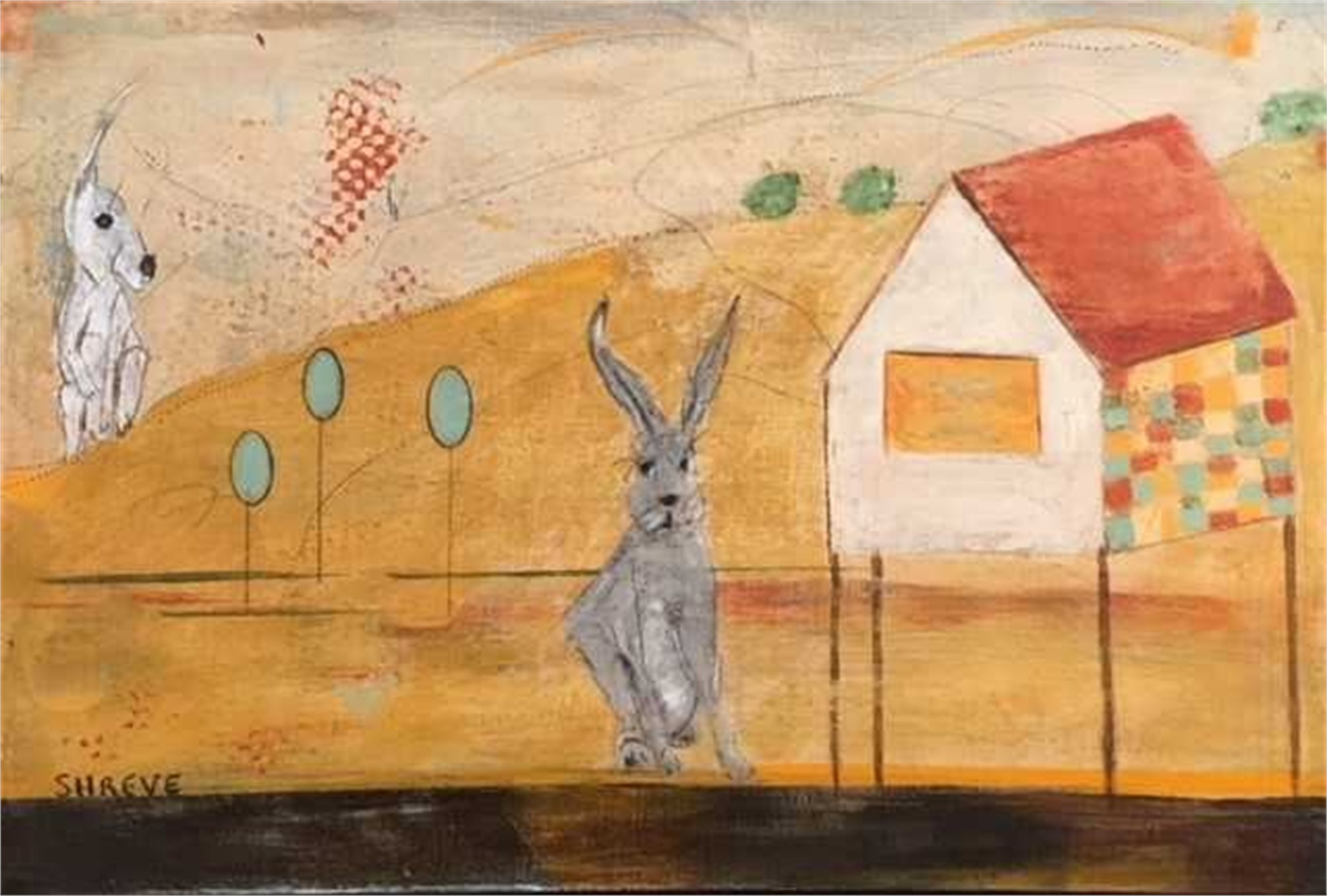 The Hare House by Judy Shreve