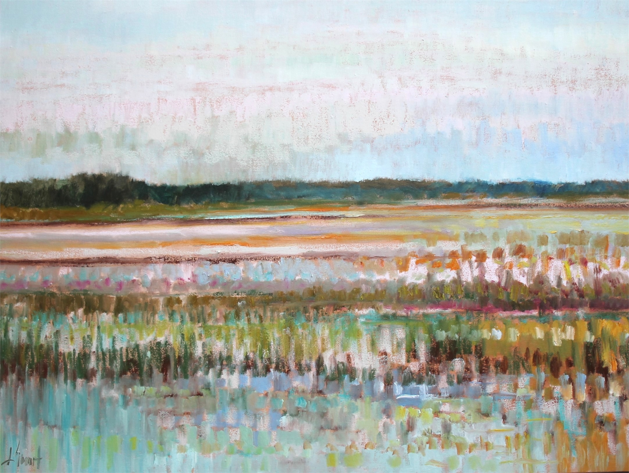 Salt Marsh View by Libby Smart