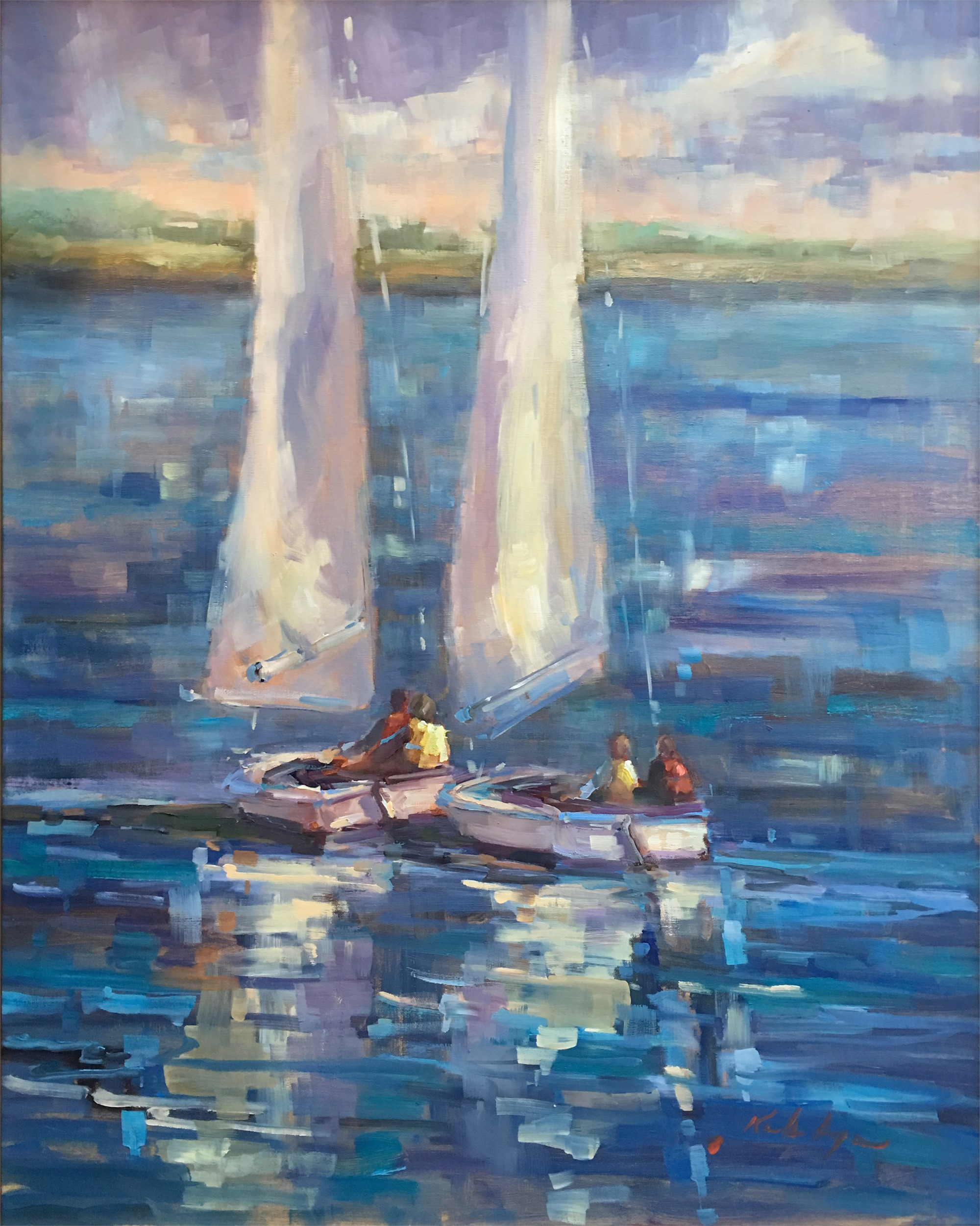 Charleston Sailing Days! by Karen Hewitt Hagan