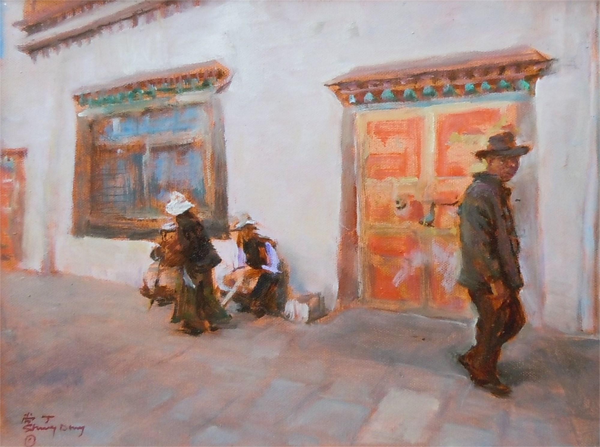 Tibetan Study 2 by Shang Ding