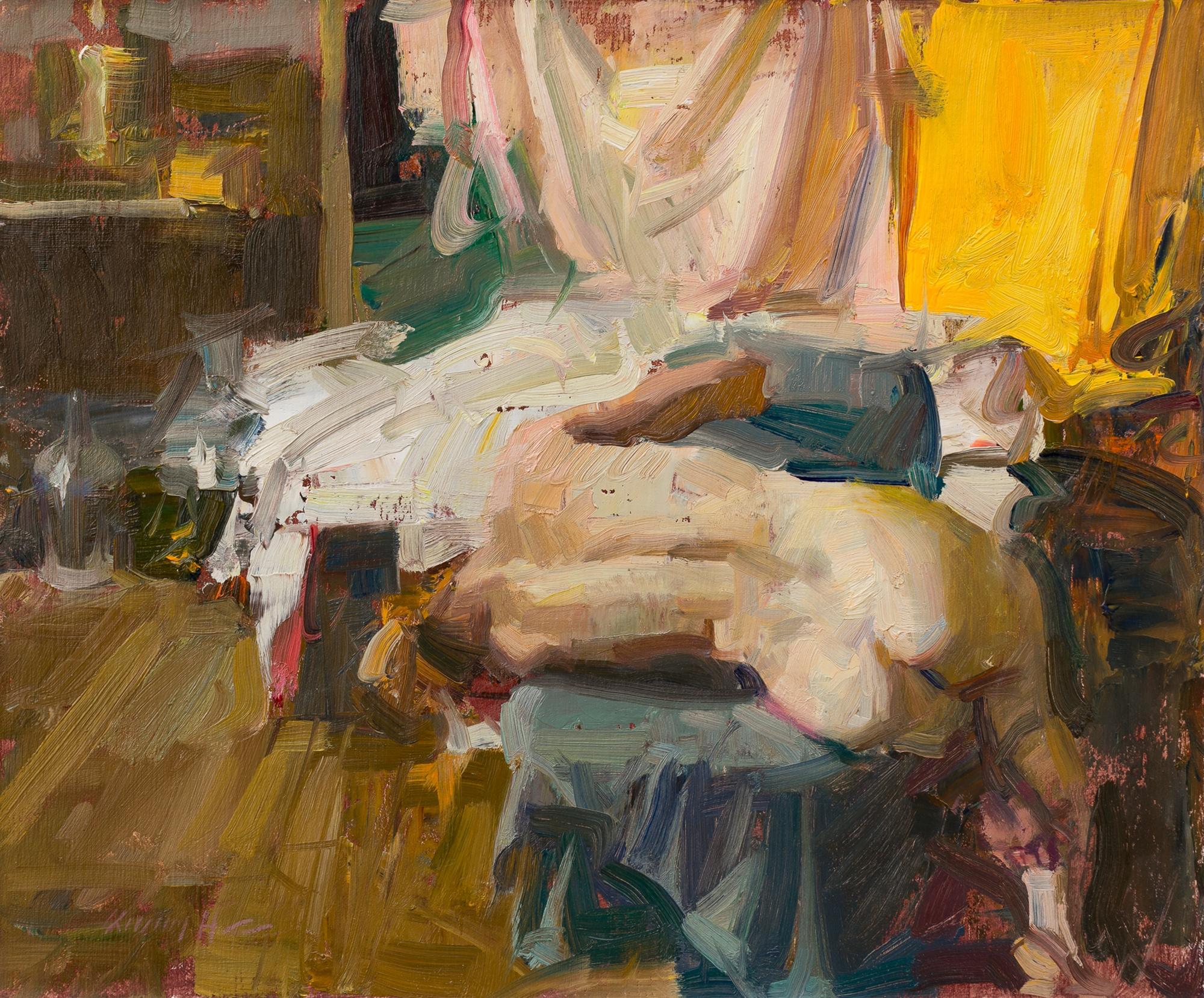 Sideways - Figure in Studio by Quang Ho