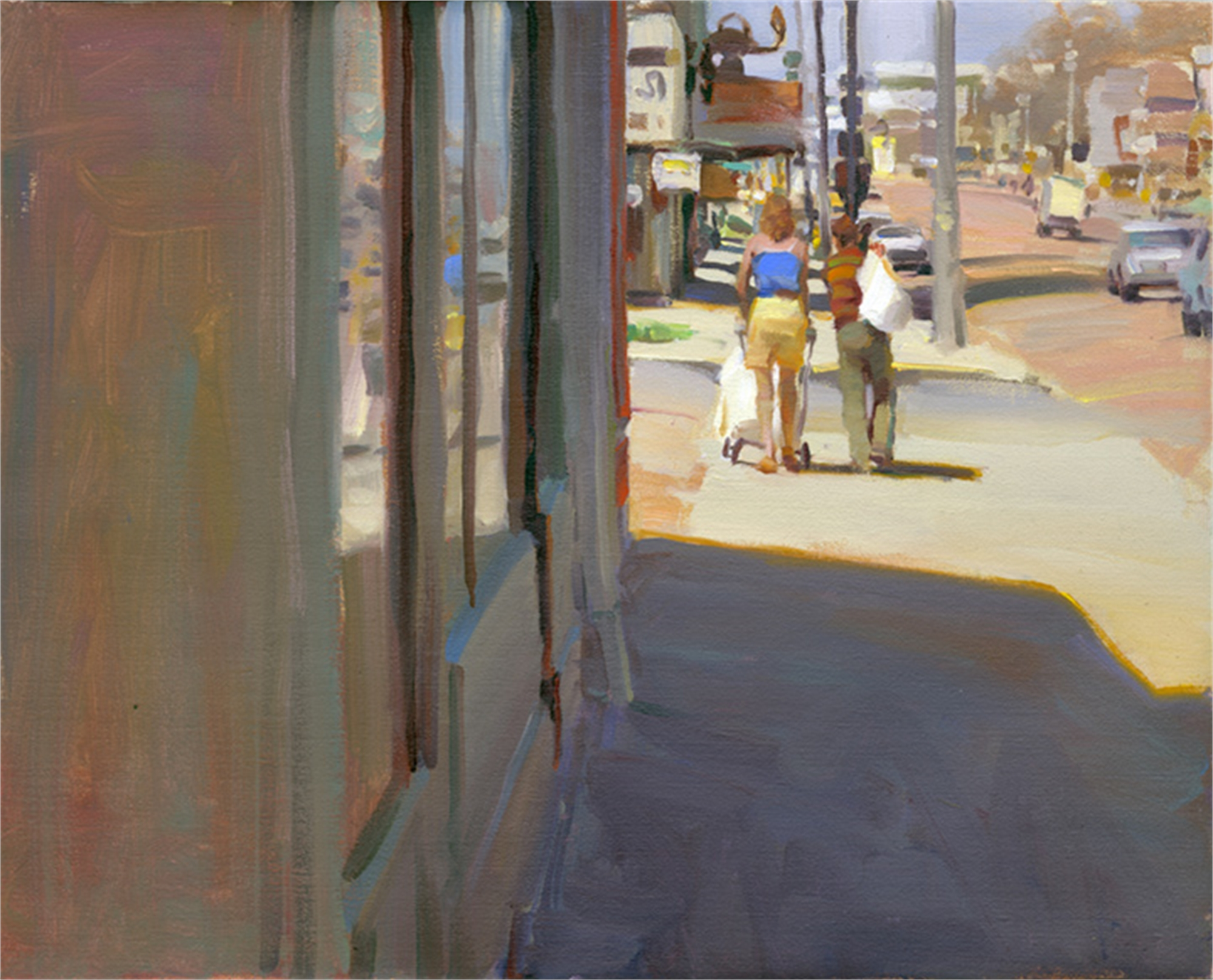 A Street in Denver by Kim English