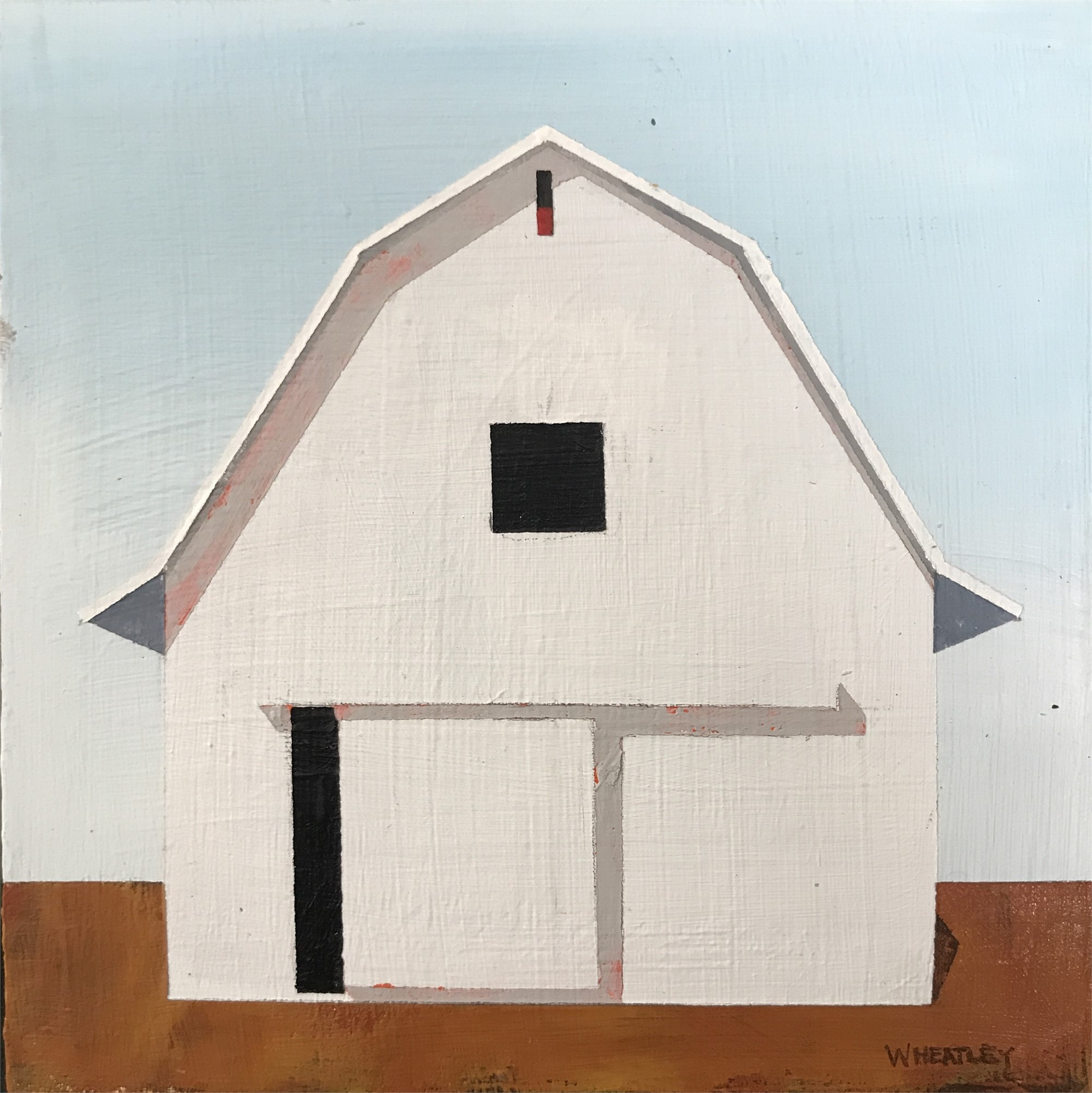 White Barn II by Justin Wheatley