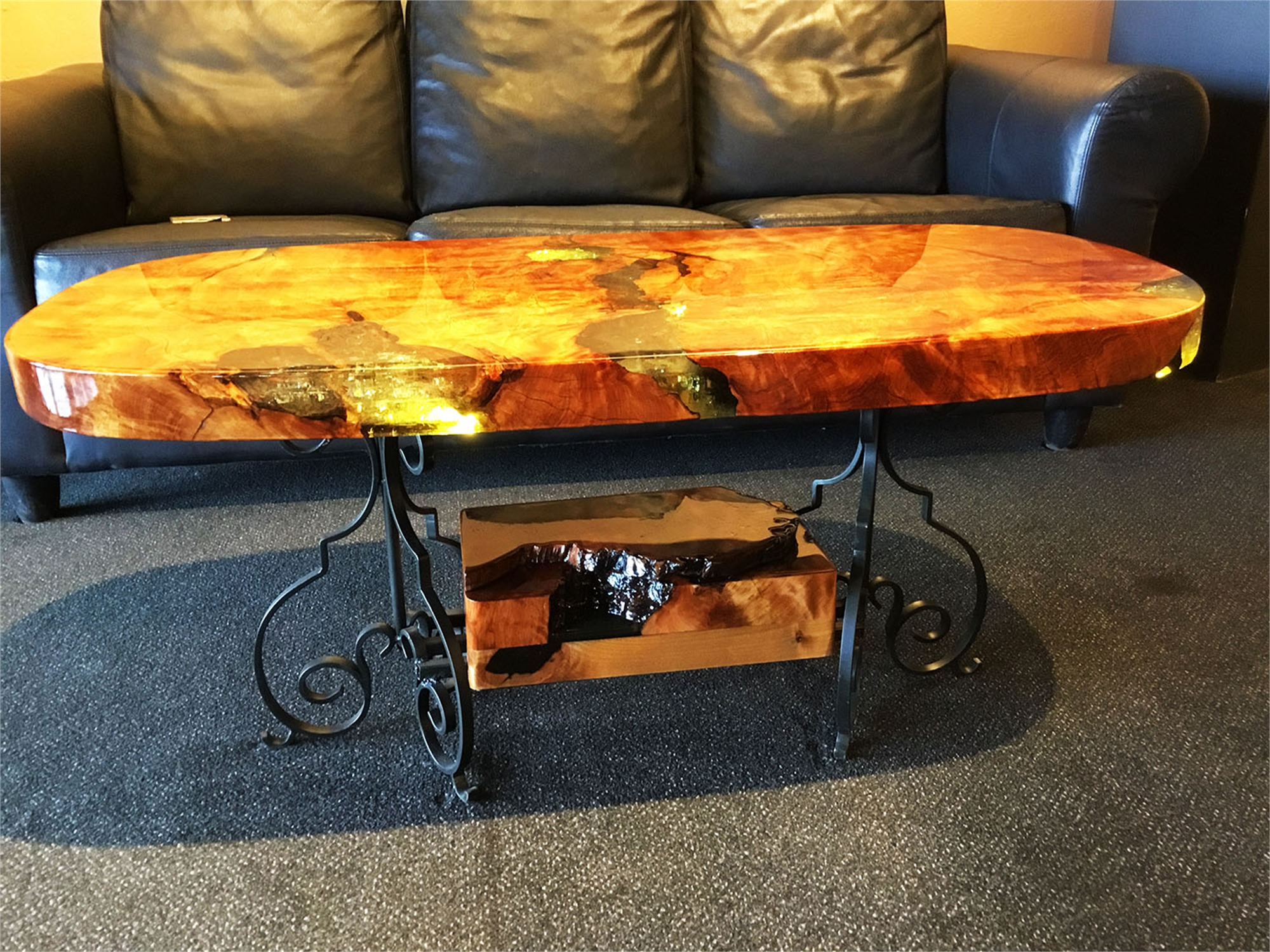 Alligator Juniper Coffee Table by Craig Christopherson