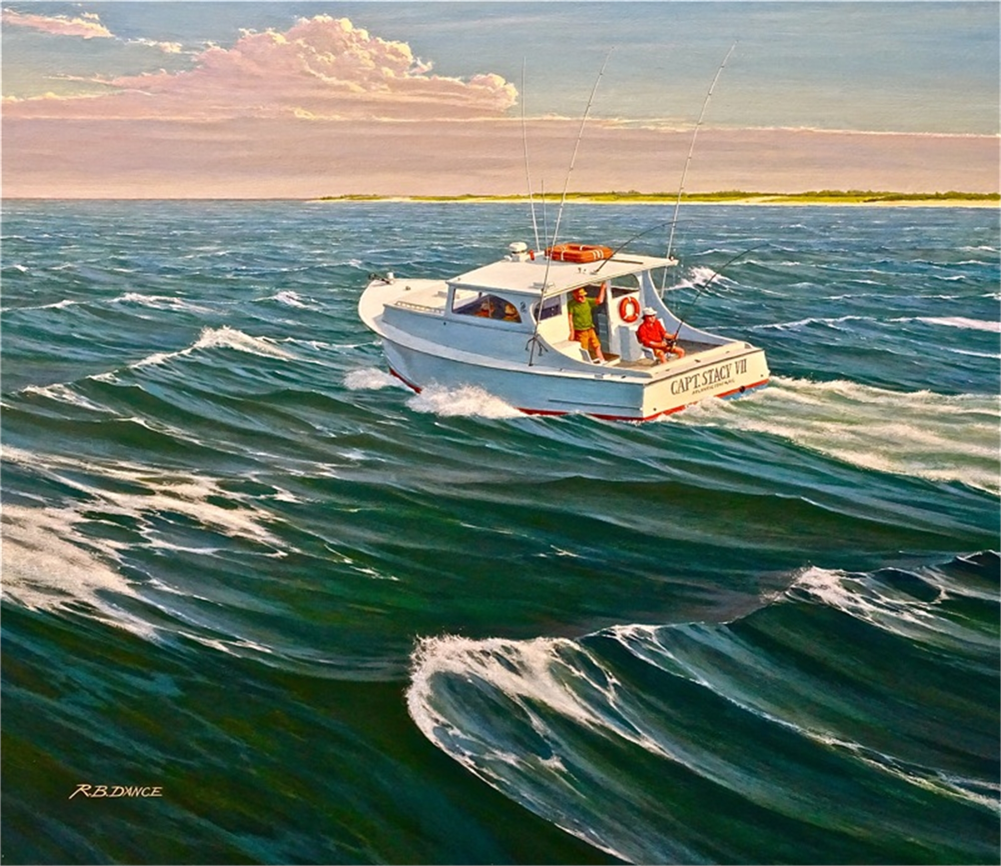 Trolling on the Captain Stacy by Robert Dance