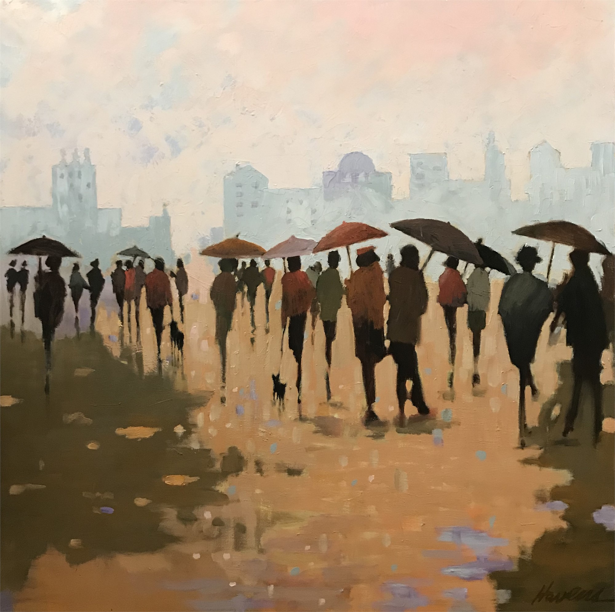 It Rained All Morning by Betsy Havens