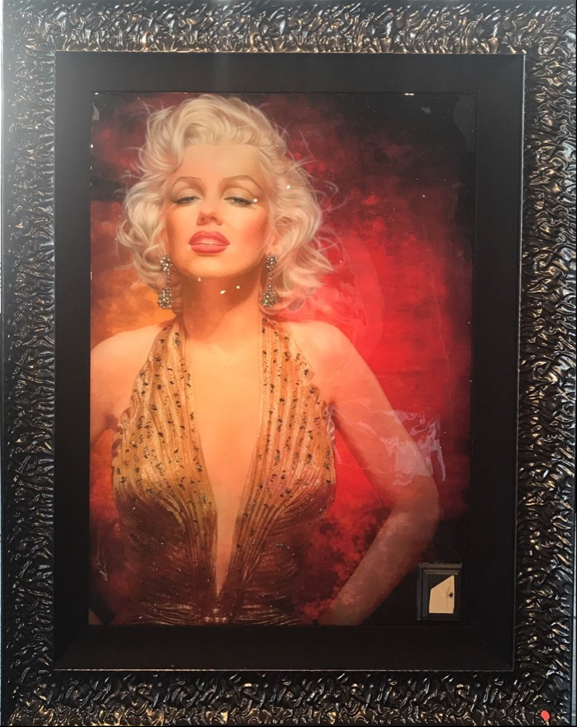 Marilyn Gold Lame by Adam Scott Rote
