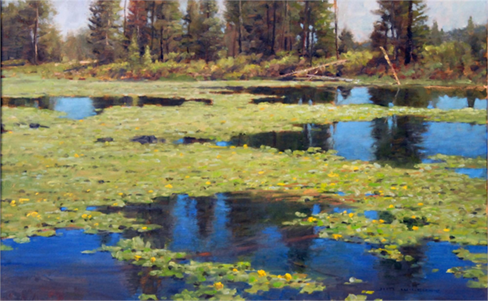 Floating Garden by Jim Wilcox