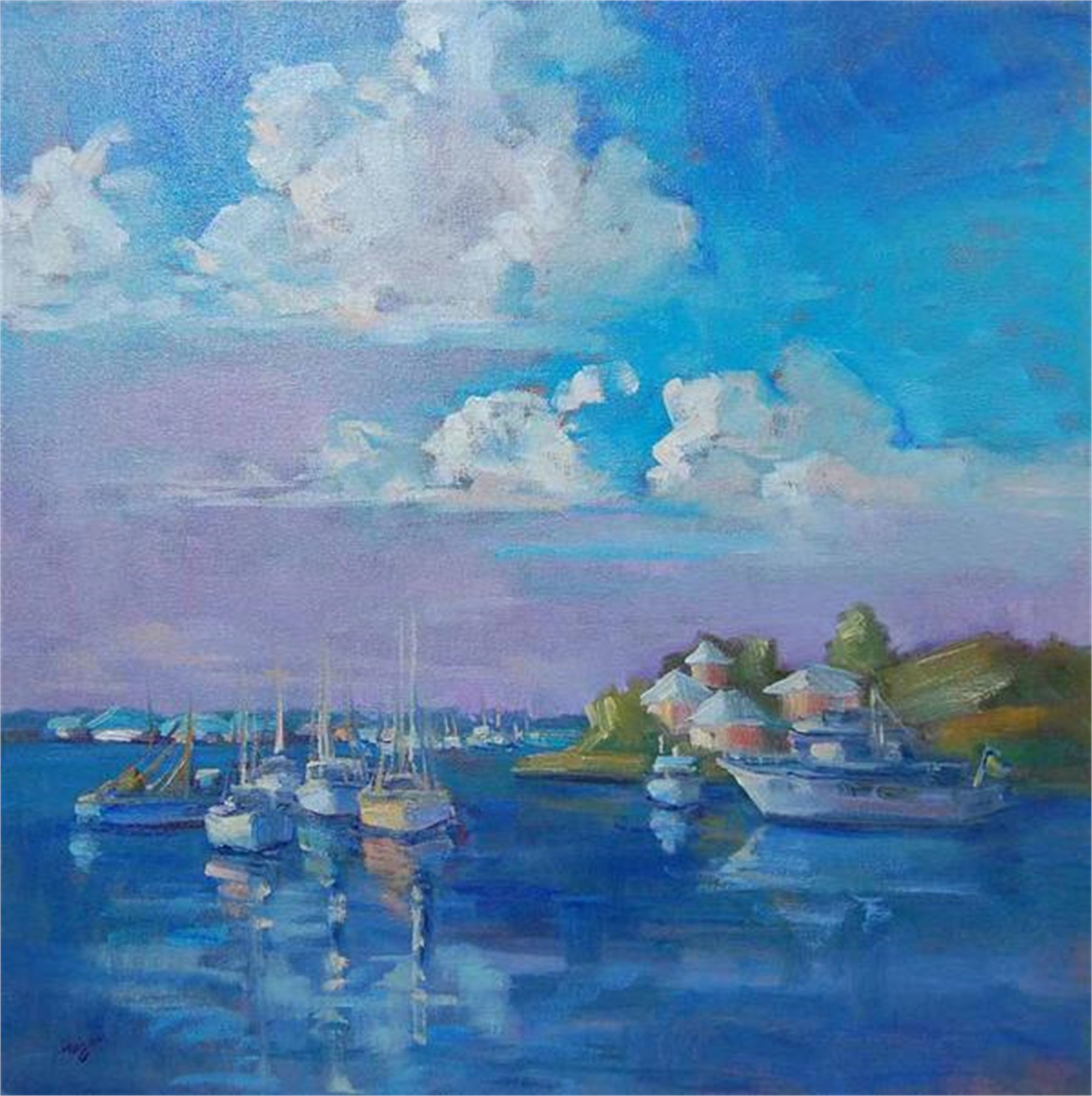 Abaco Morning by Karen Hewitt Hagan