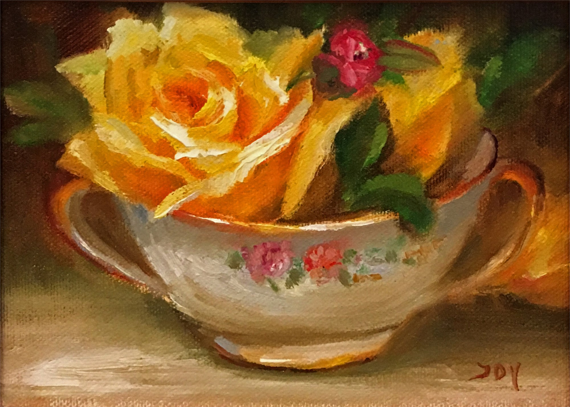 Yellow Roses by JOY