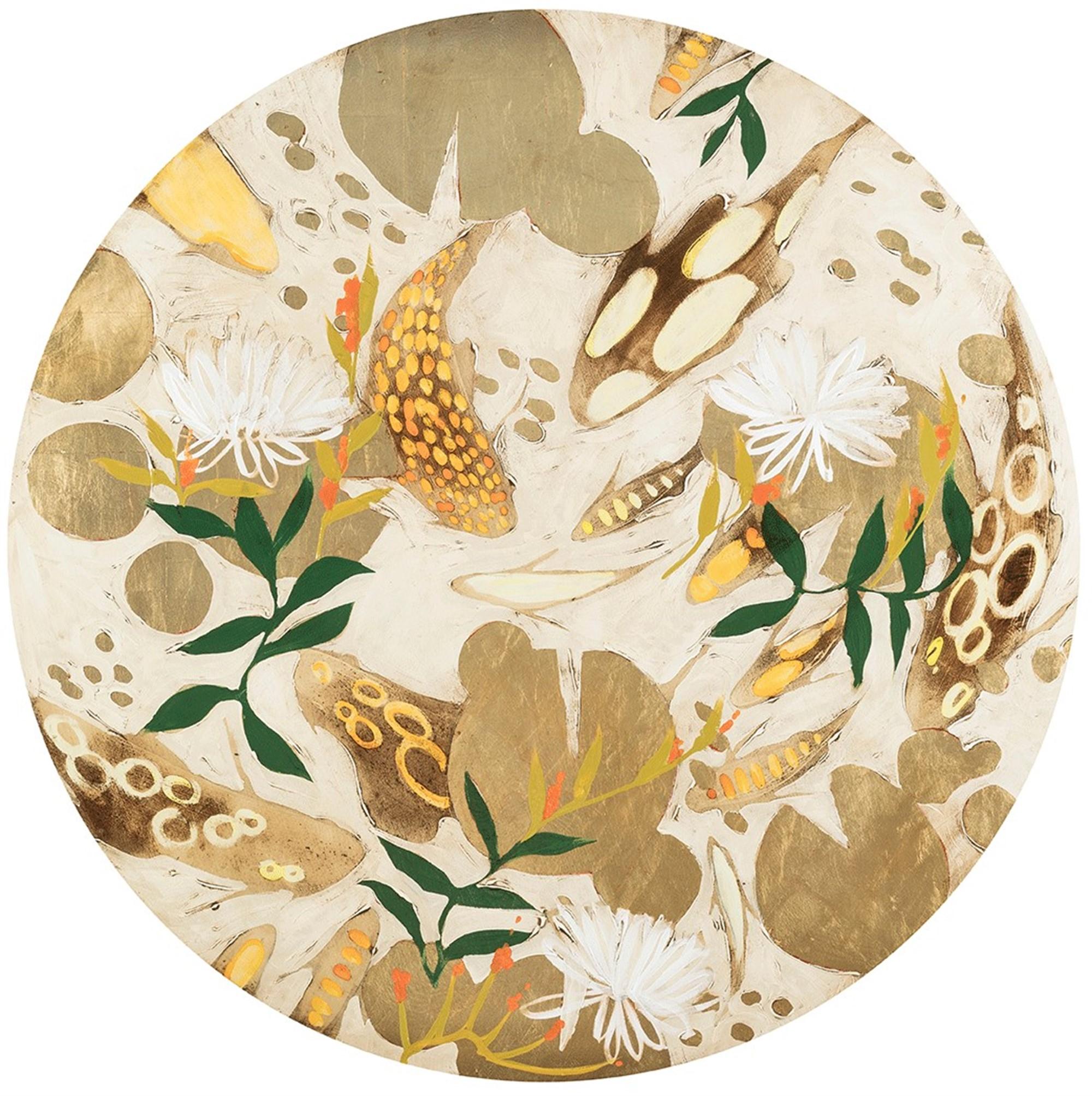Botanicals and Koi by Joseph Bradley