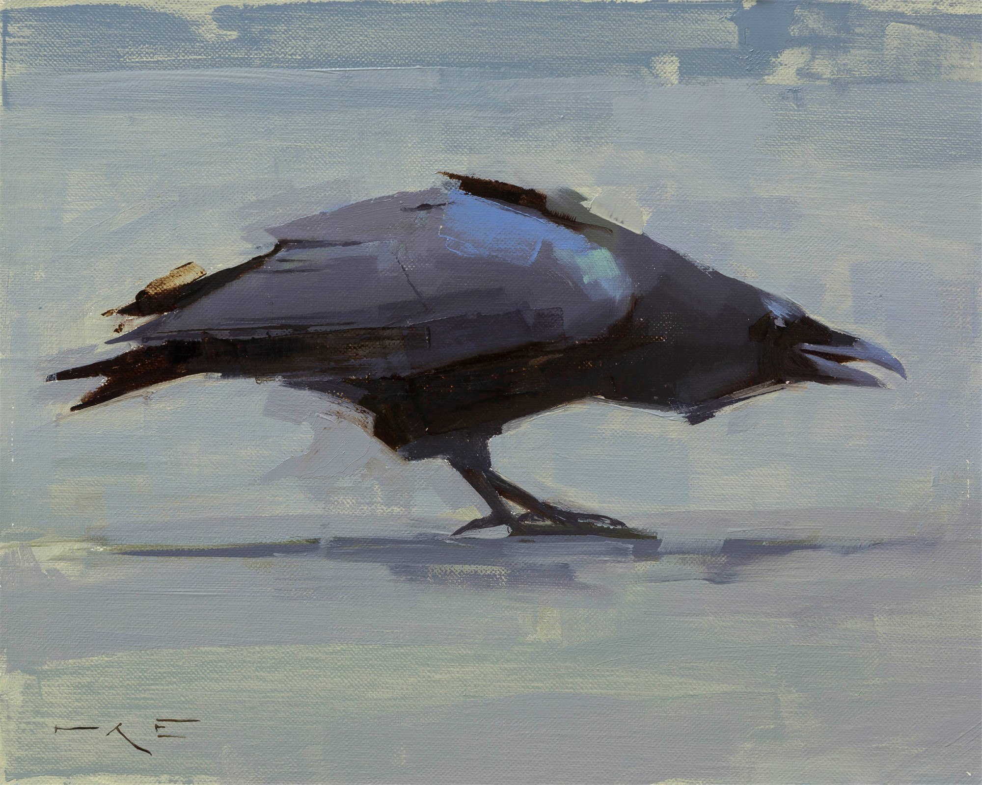 Raven I by Thorgrimur Einarsson