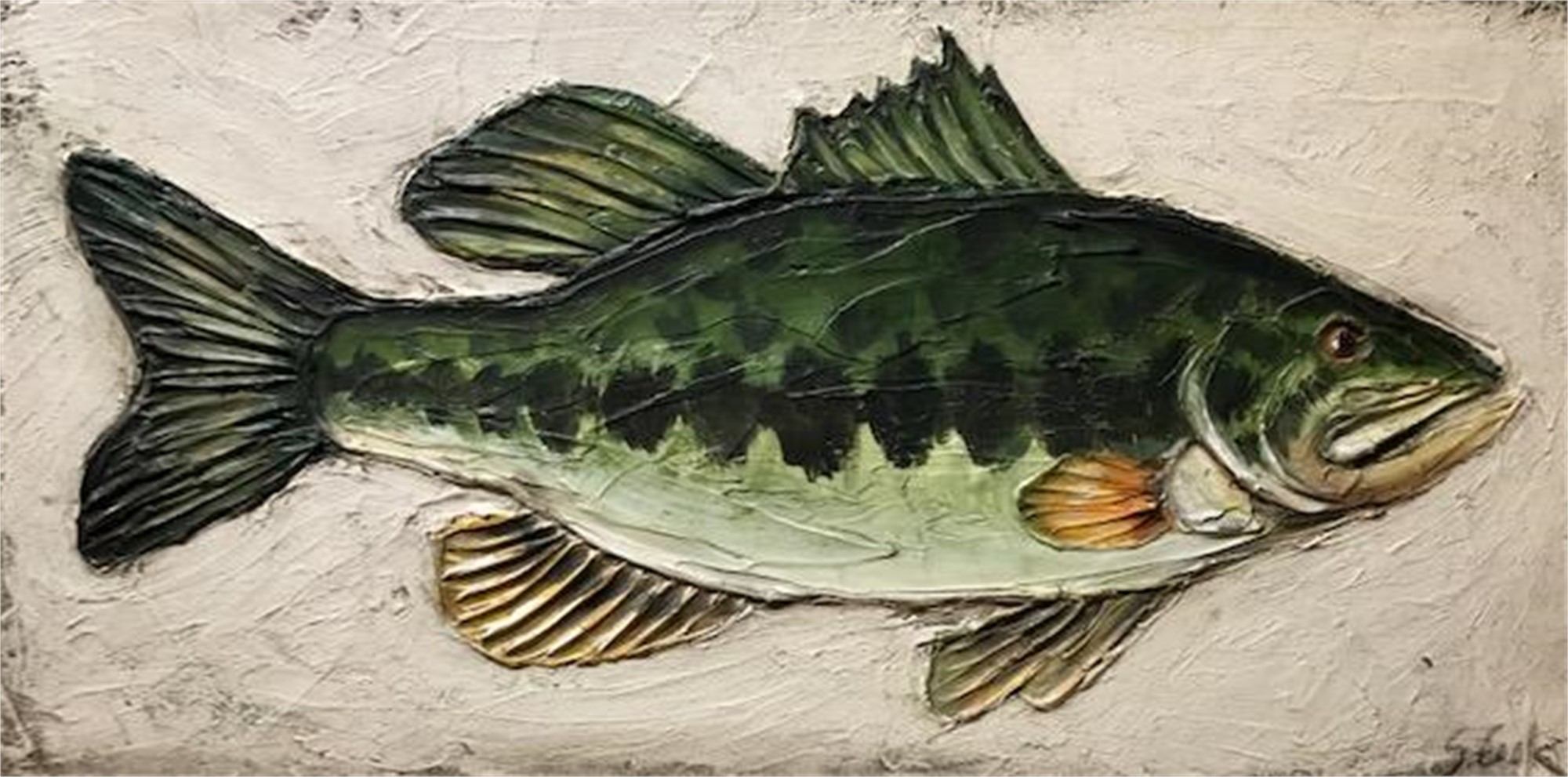 Bass by Sherry Cook