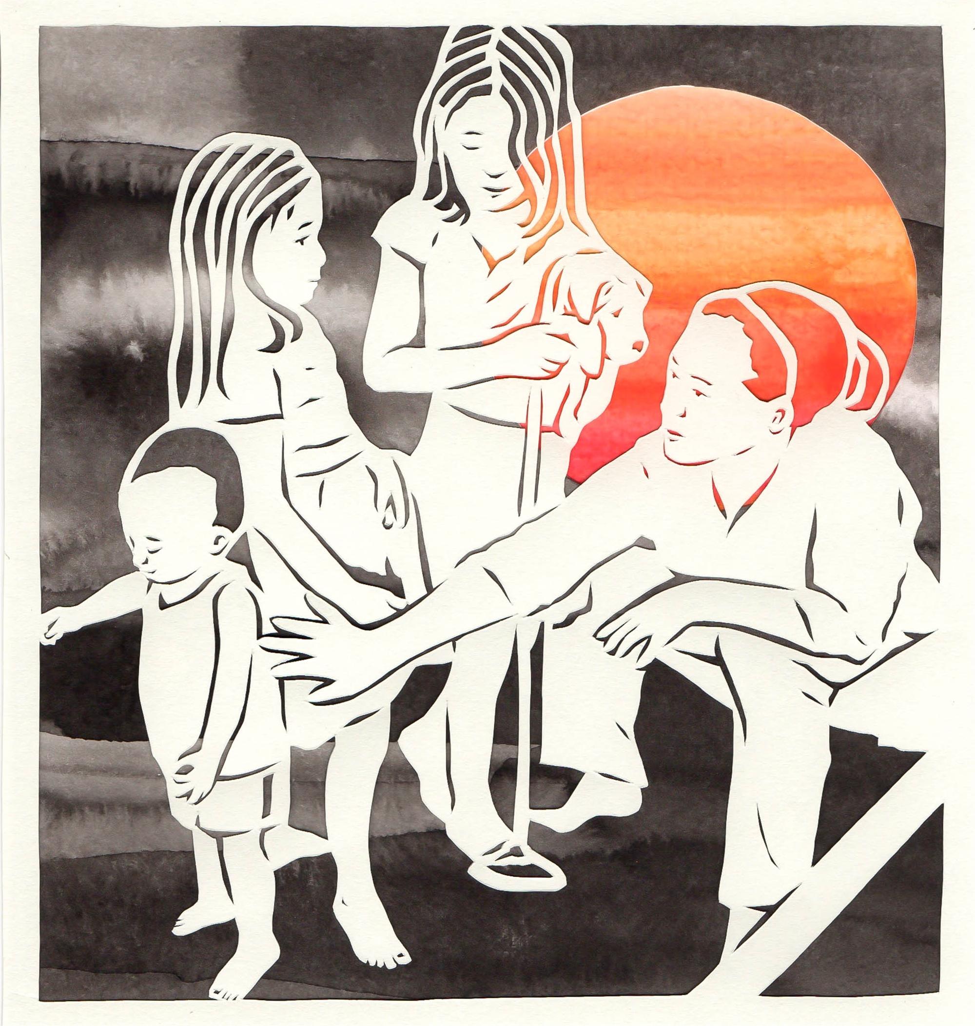 Blood Moon II by Lauren Iida