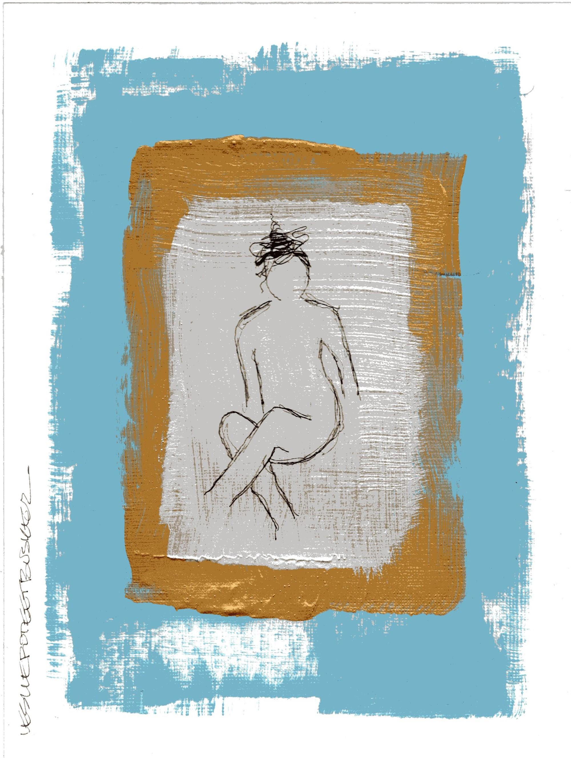 Figure No. 47 by Leslie Poteet Busker