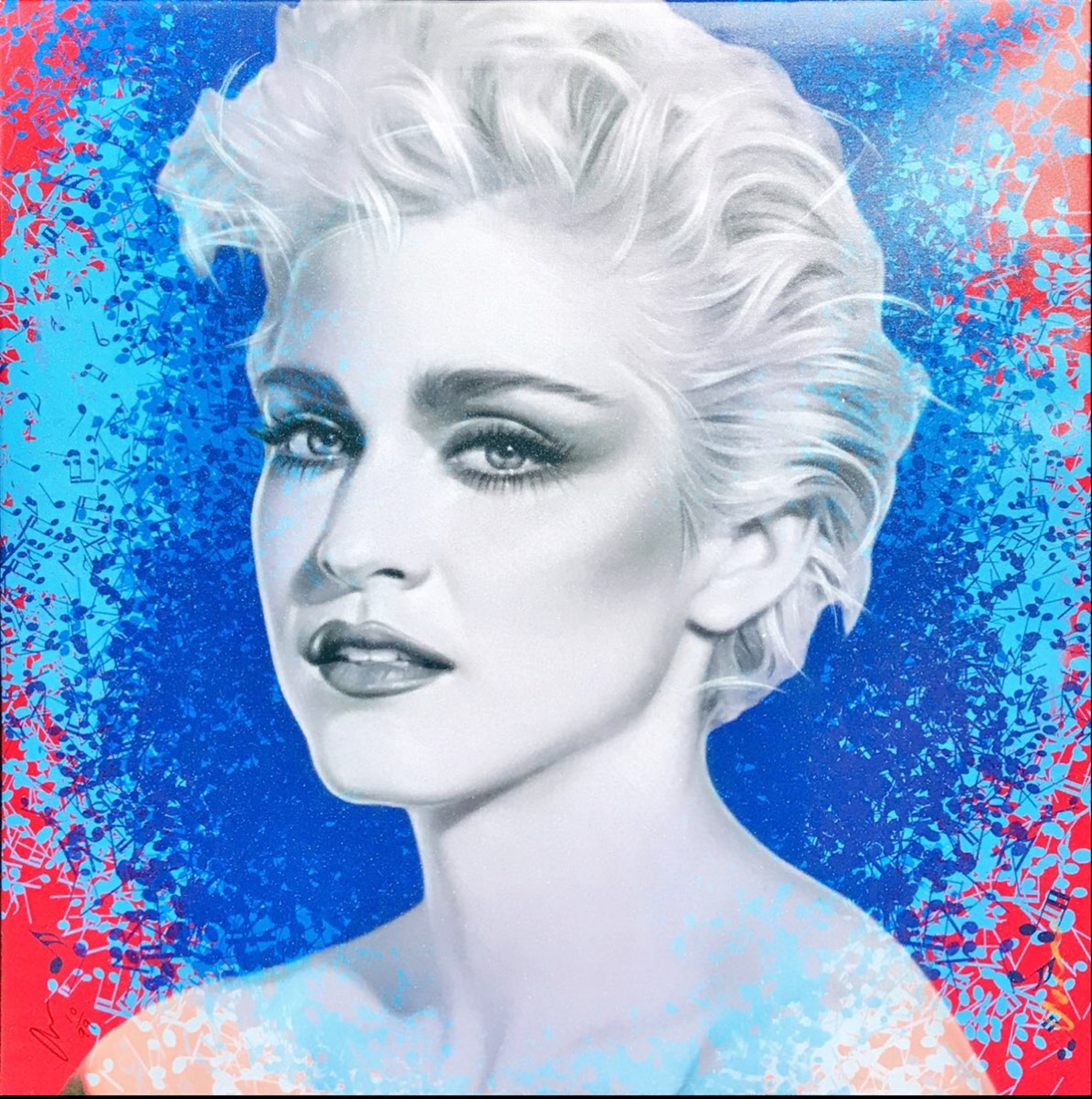 Let the Music Play Series: Madonna True Blue by Adam Scott Rote