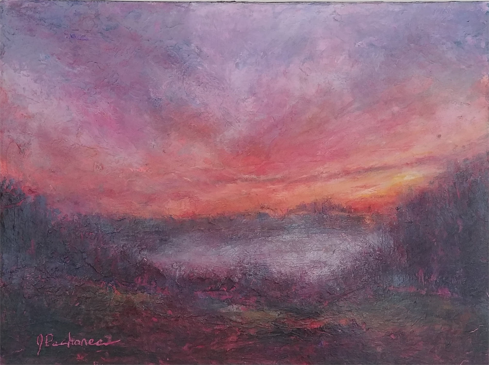 Morning Mist by Joan Pechanec (McMinnville, OR)